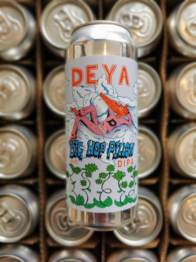 Big Hop Pillow, Deya Brewing