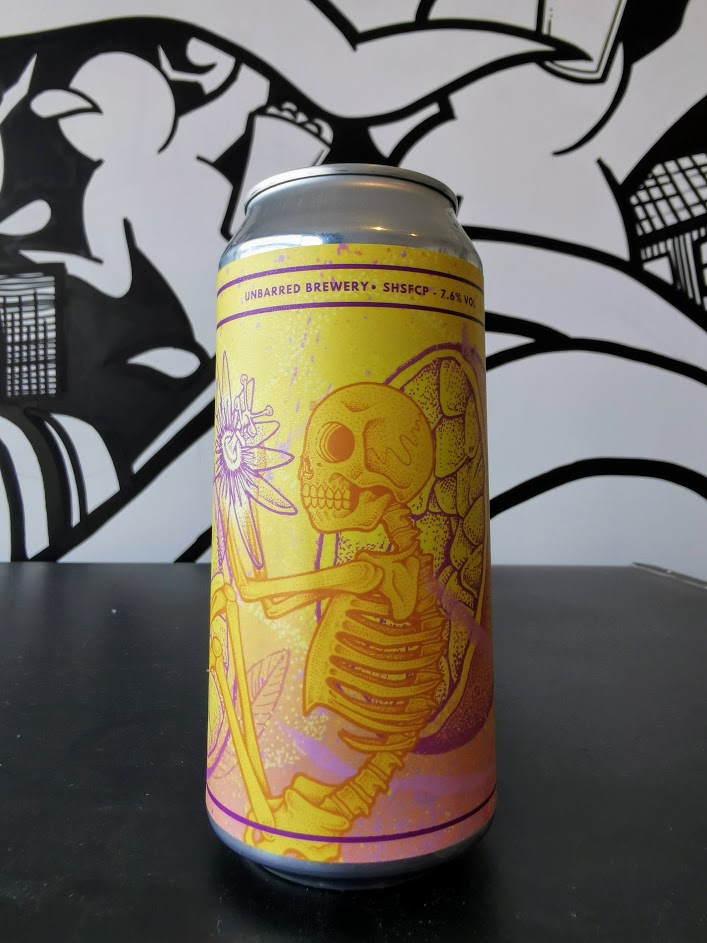 SHSF Citra & Passionfruit NEIPA, UnBarred Brewery