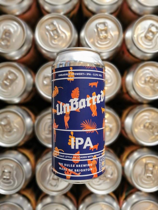 IPA, UnBarred Brewery