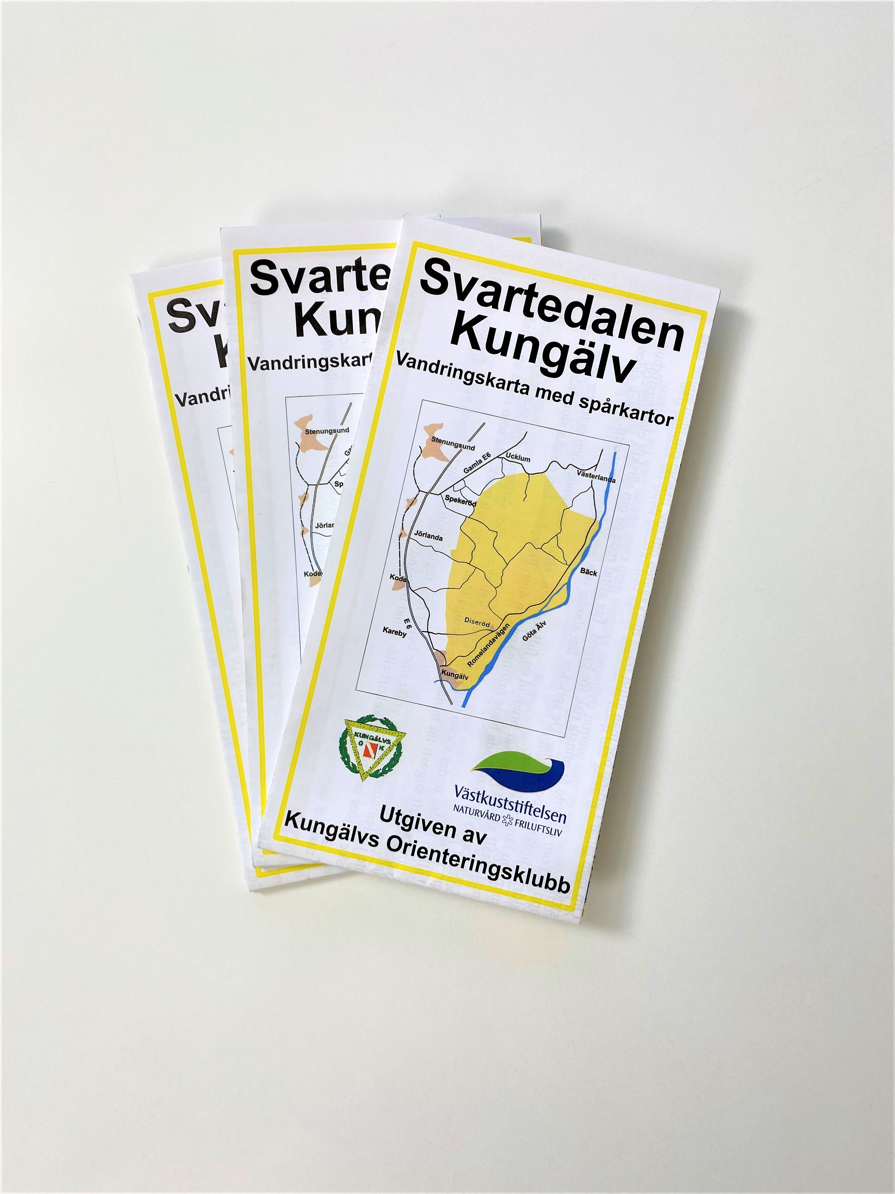 Karta Svartedalen