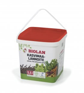Biolan luonnonlannoite, pakki 5,5l