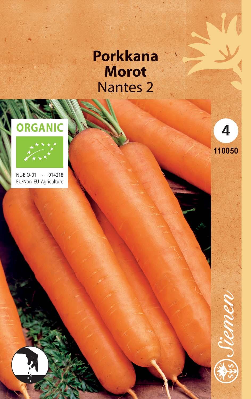 Porkkana, luomusiemen