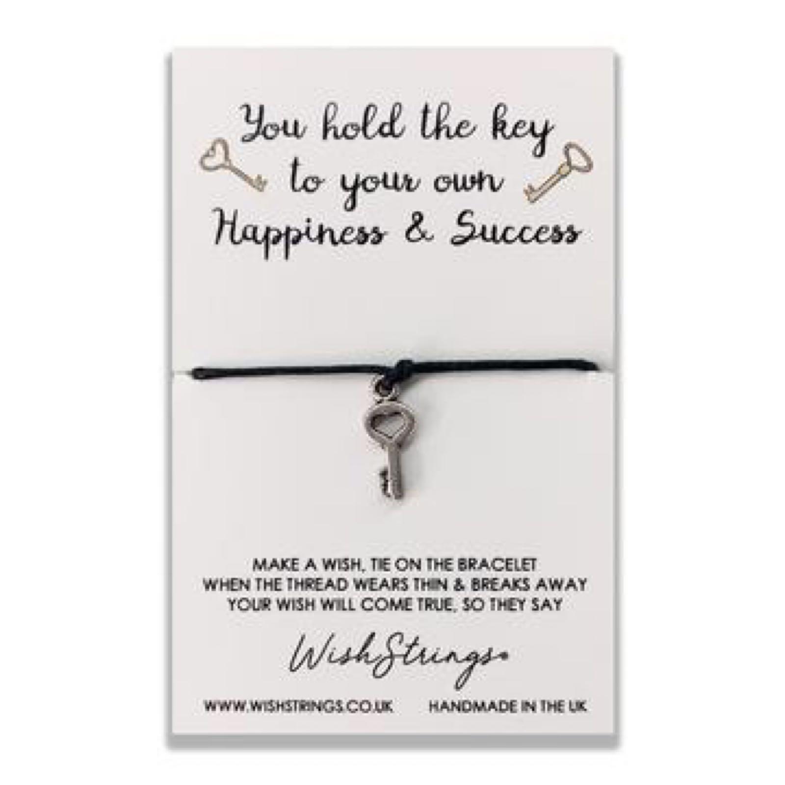 *Sale* Key to Success Wish String