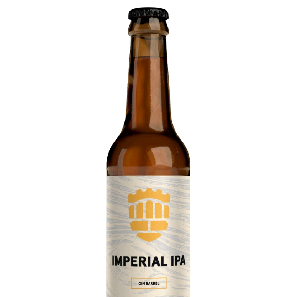 Imperial IPA Gin Barrel 9 % 0,33 l