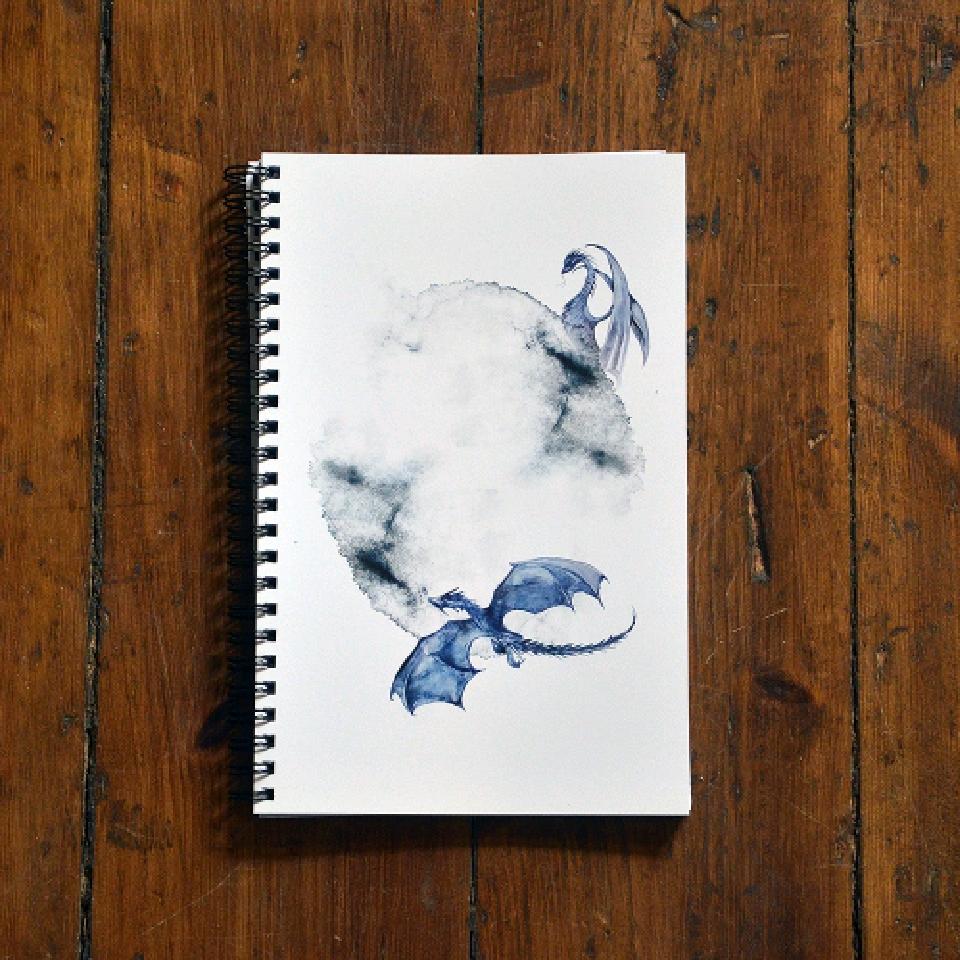 Sketchbok - Flygande drakar