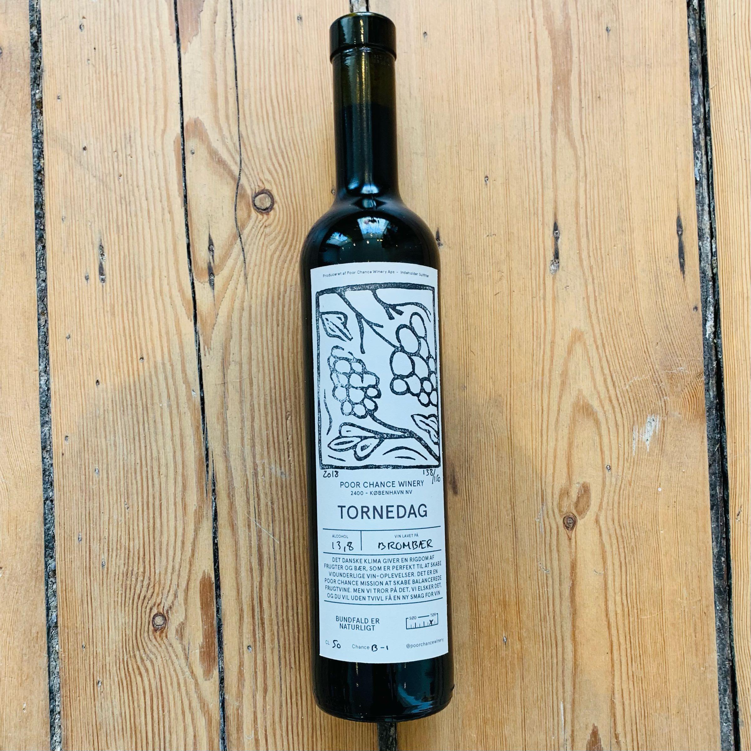 Poor Chance Winery Tornedag 2018
