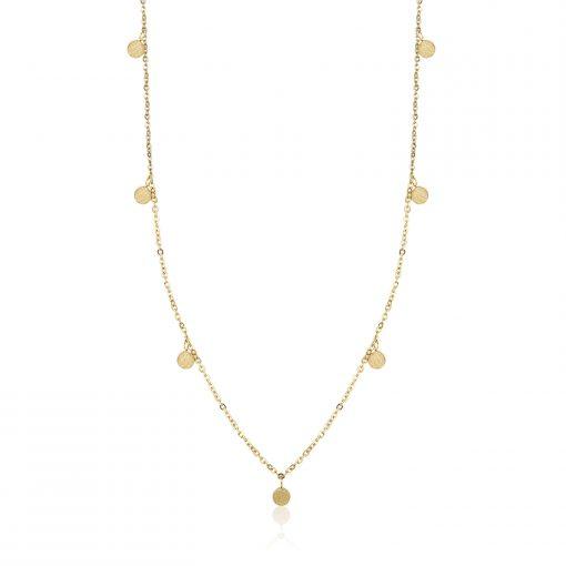 Halskette vergoldet - verschiedene Varianten