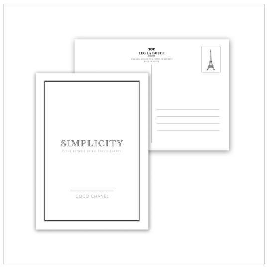 """Postkarte """"varieties"""" (verschiedene Designs)"""
