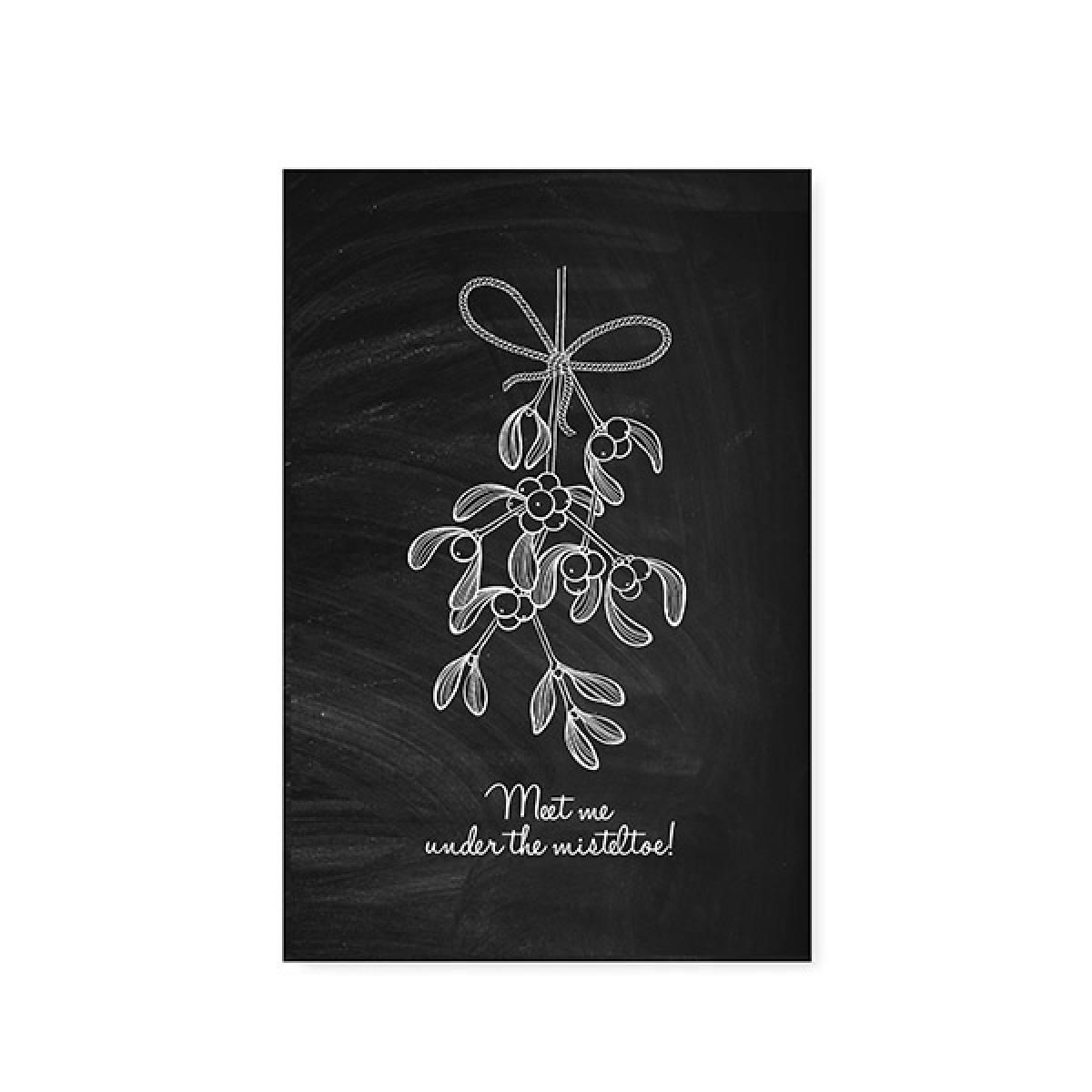 "Postkarte ""christmas"" (verschiedene Designs)"