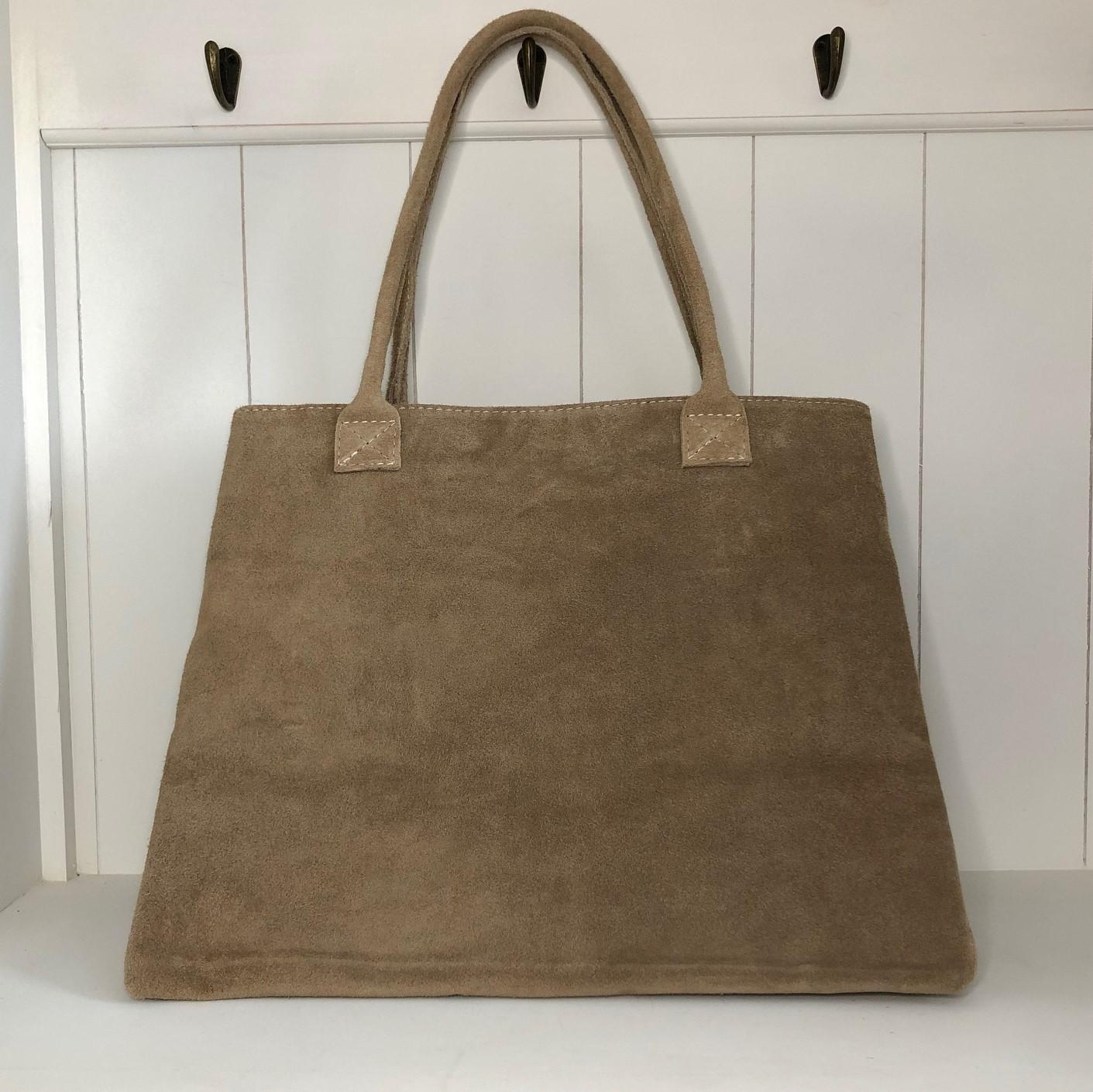 Wildledertasche (erhältlich in verschiedenen Farben)