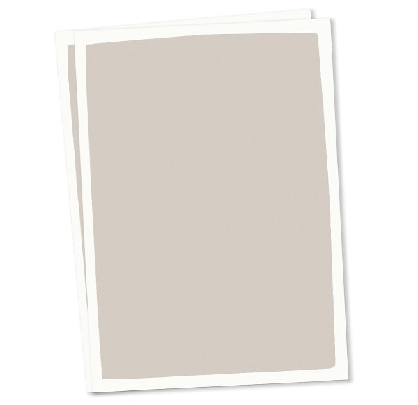 Blanko Postkarten