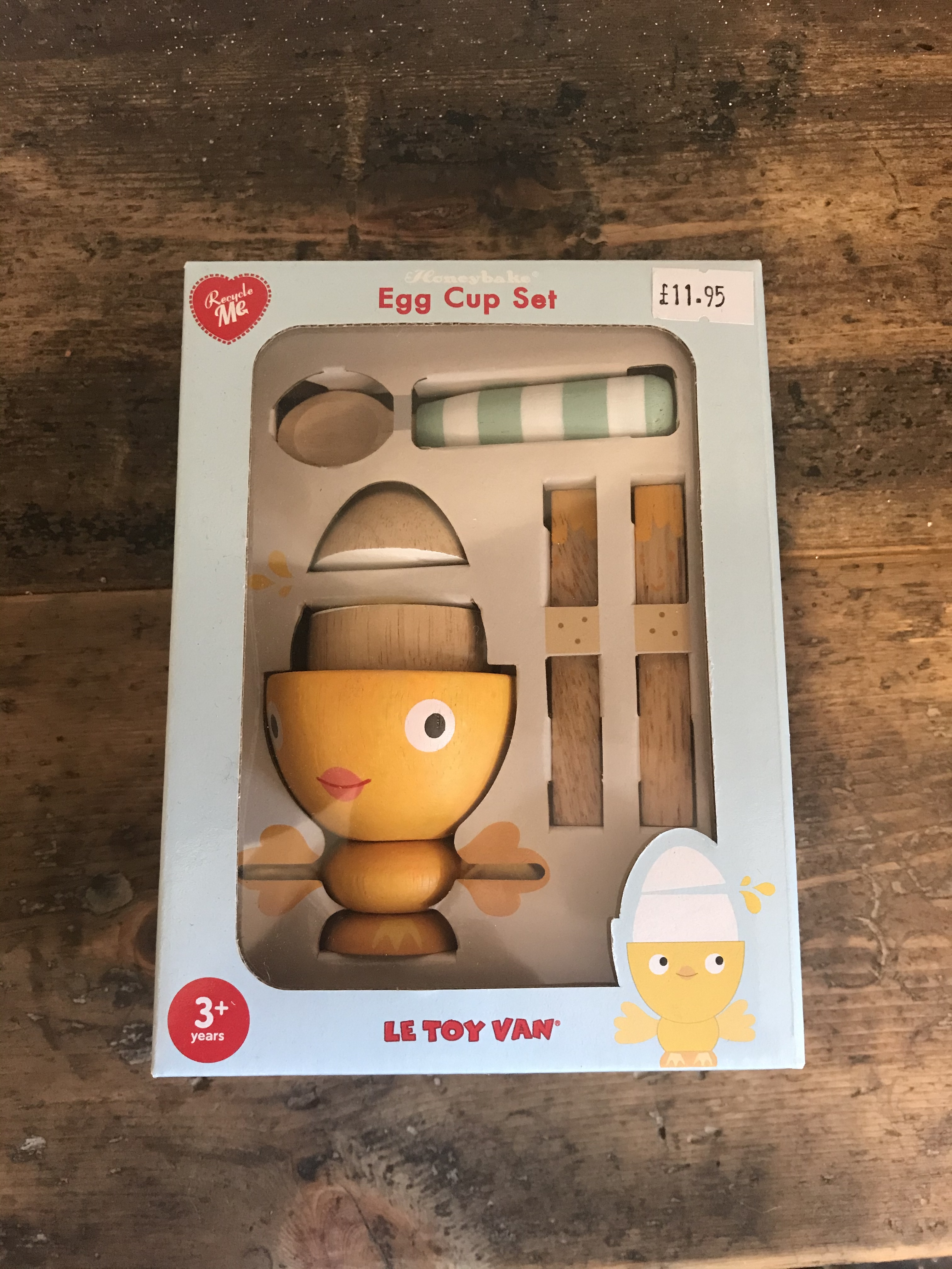 Egg Cup & Soldiers Set