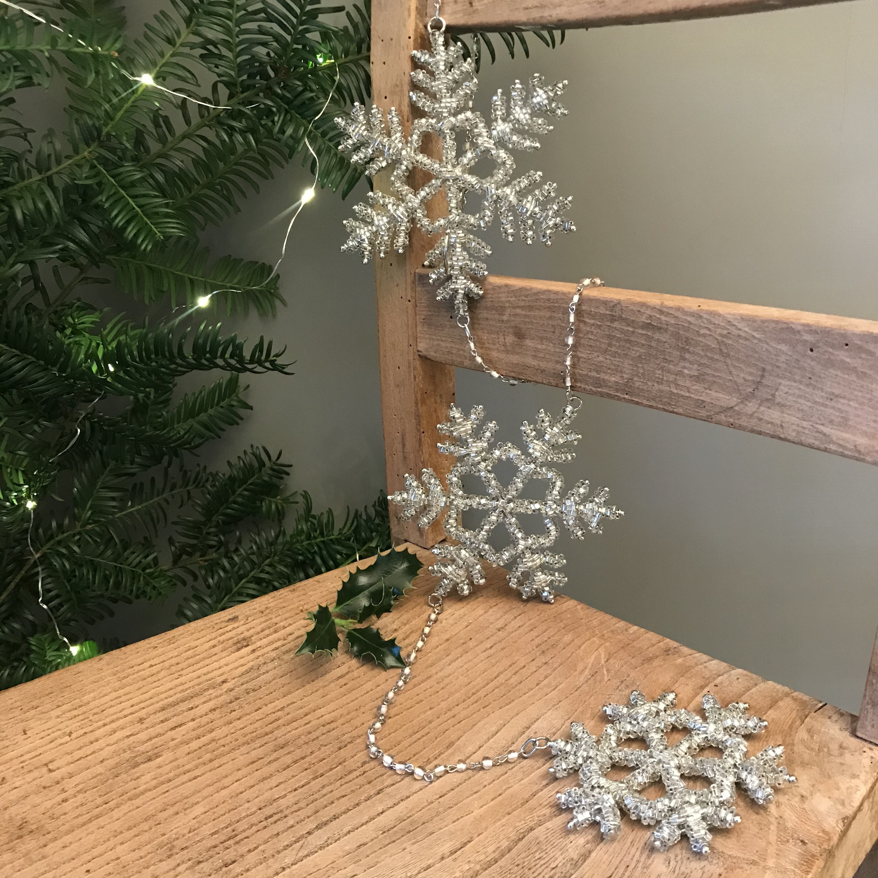 Snowflake Hanging Decoration - was £16.50