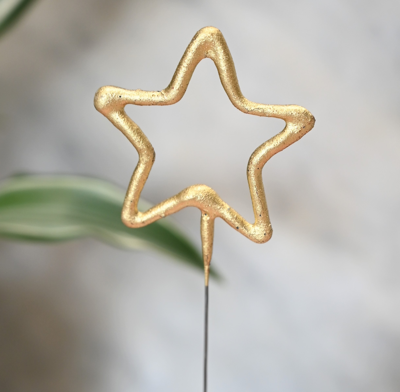 Star Shaped Sparkler