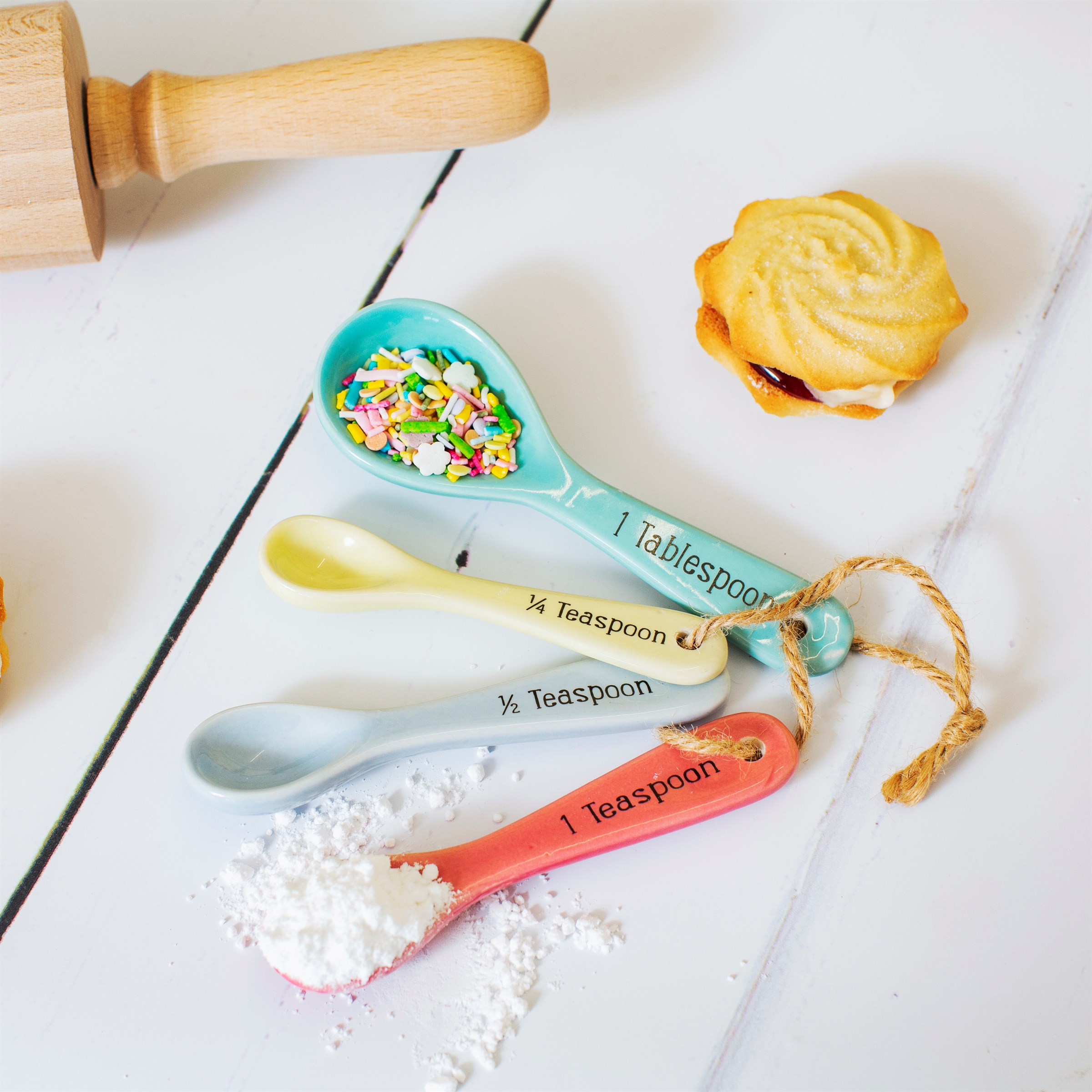 Pastel Measuring Spoons