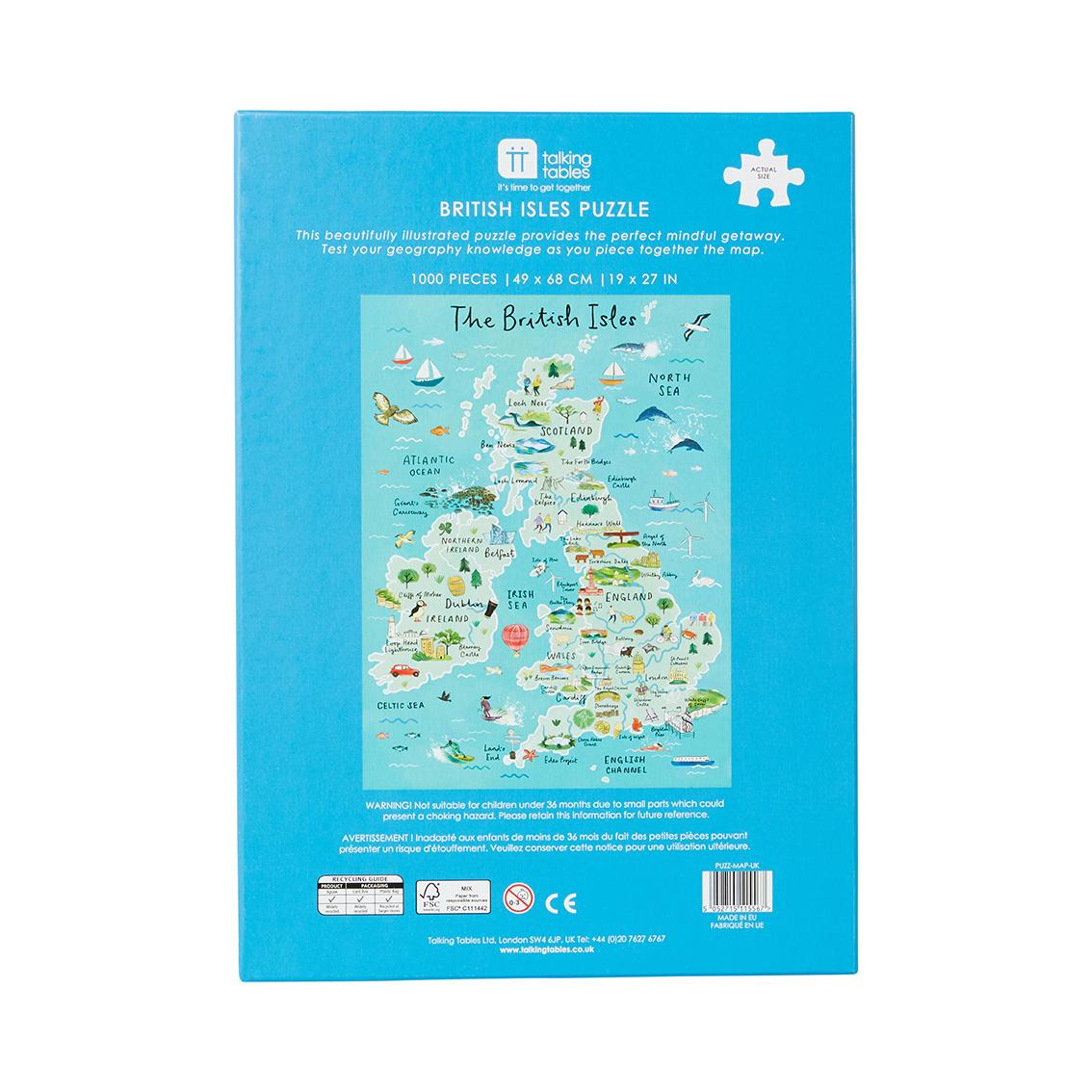 British Isles Map Puzzle