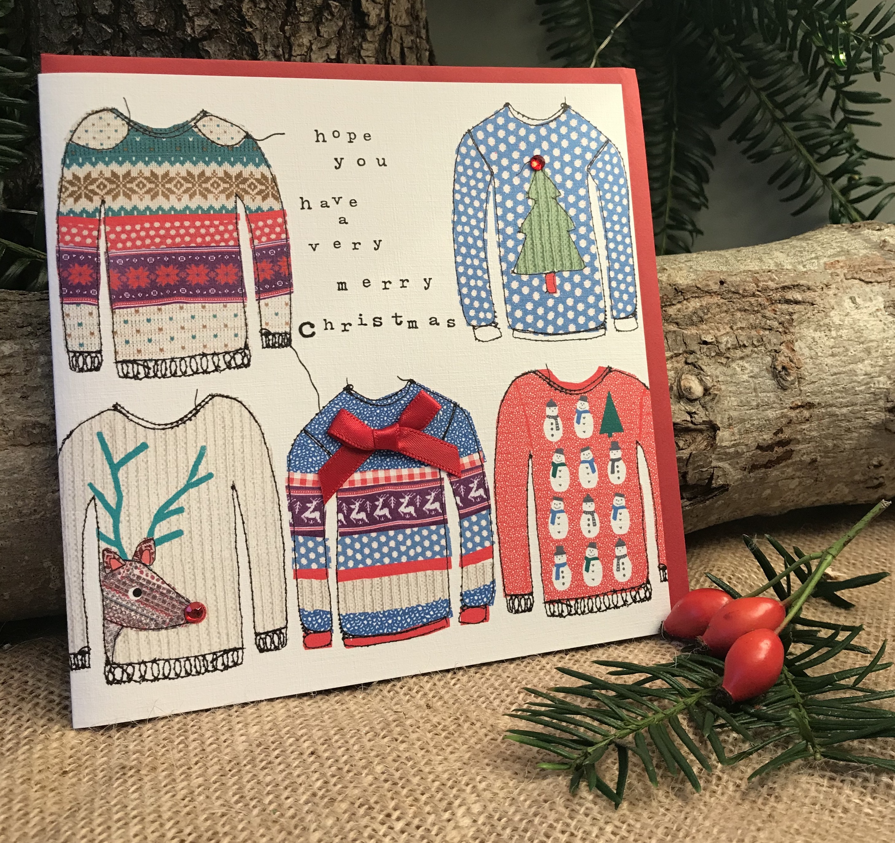 Christmas Jumpers Card - was £3.50
