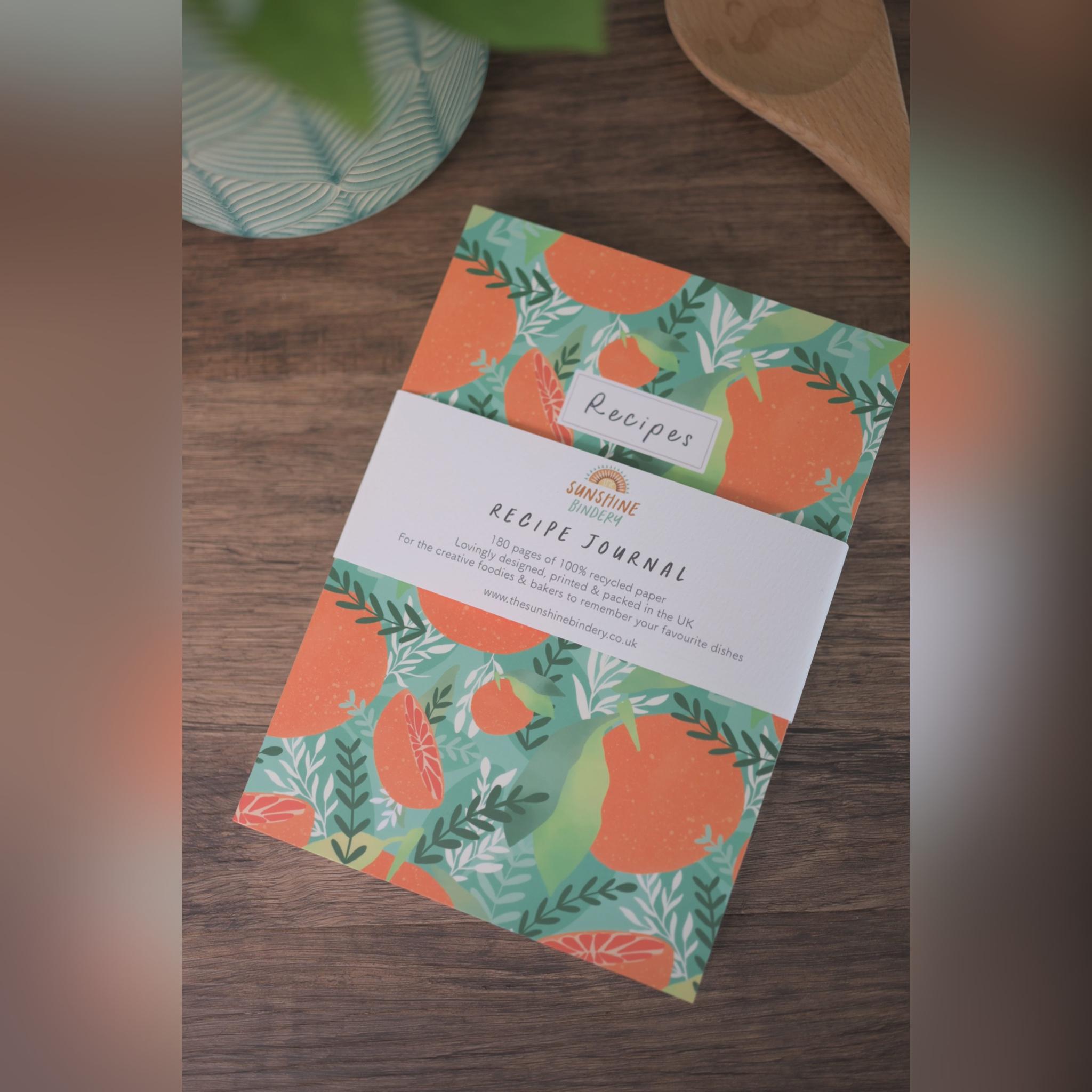 Recipe Journal, The Sunshine Bindery
