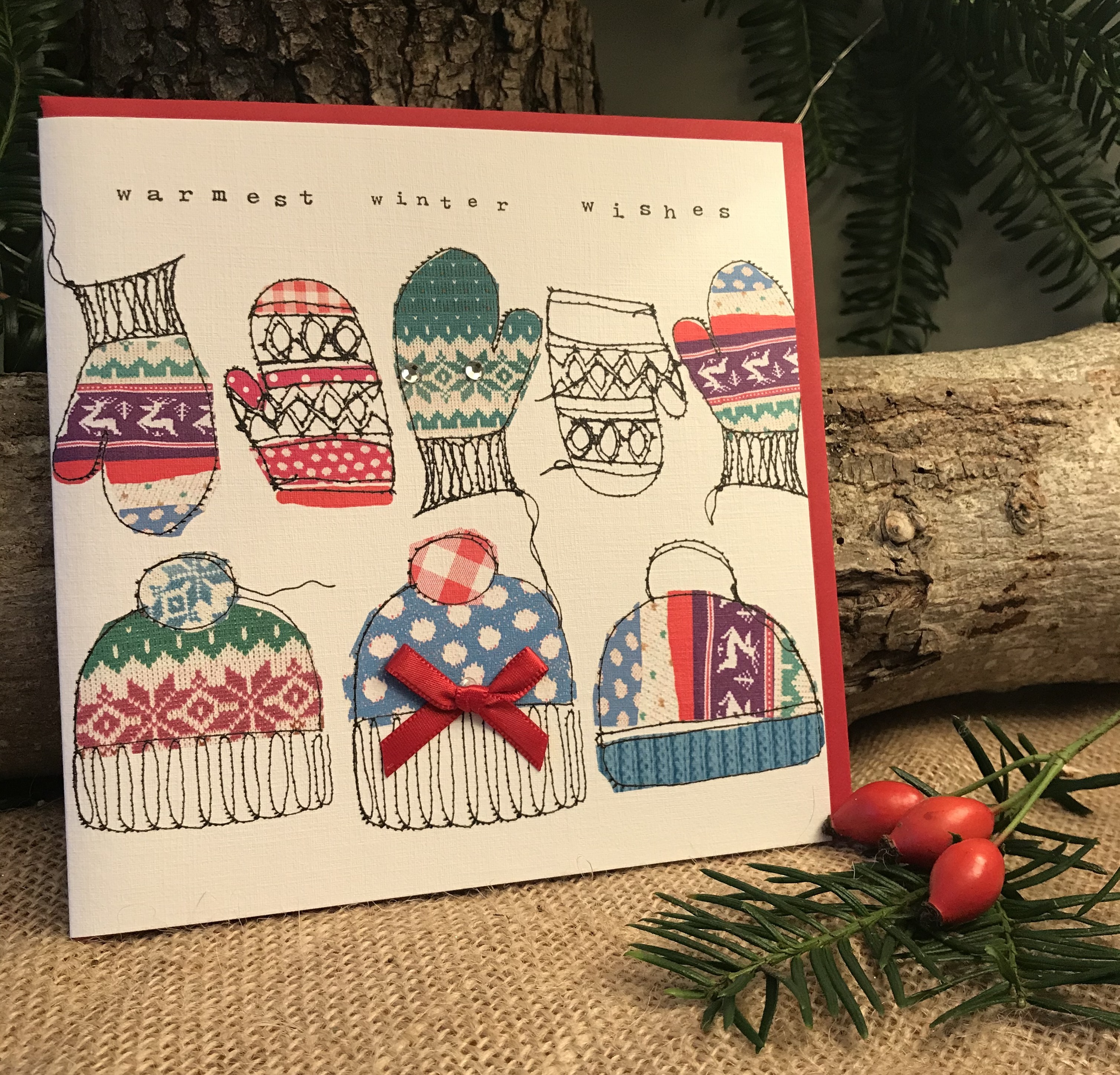'Warmest Winter Wishes' Christmas Card - was £3.50