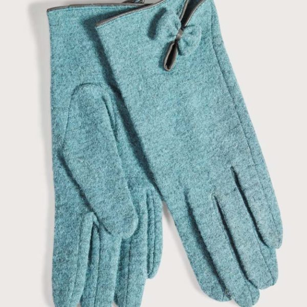 Women's Bow Detail Gloves