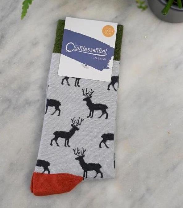 Men's Stag Bamboo Socks