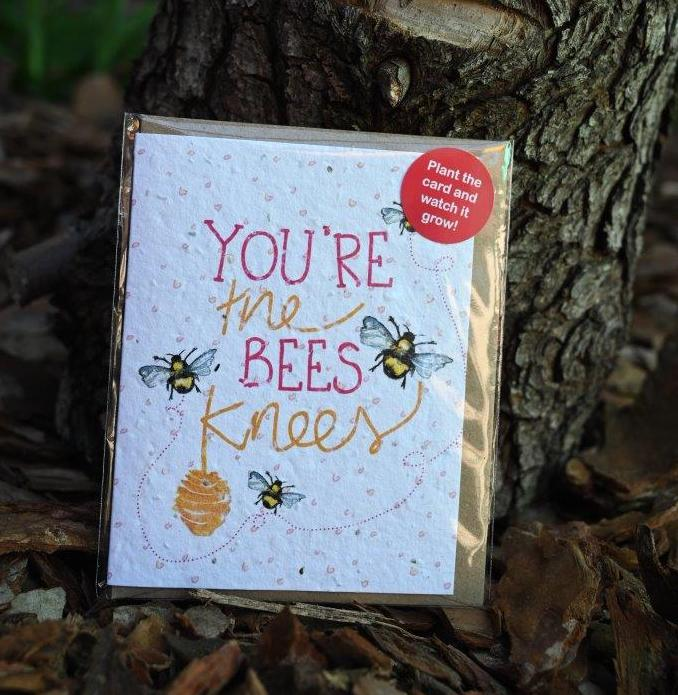 'Bees Knees' Seed Card