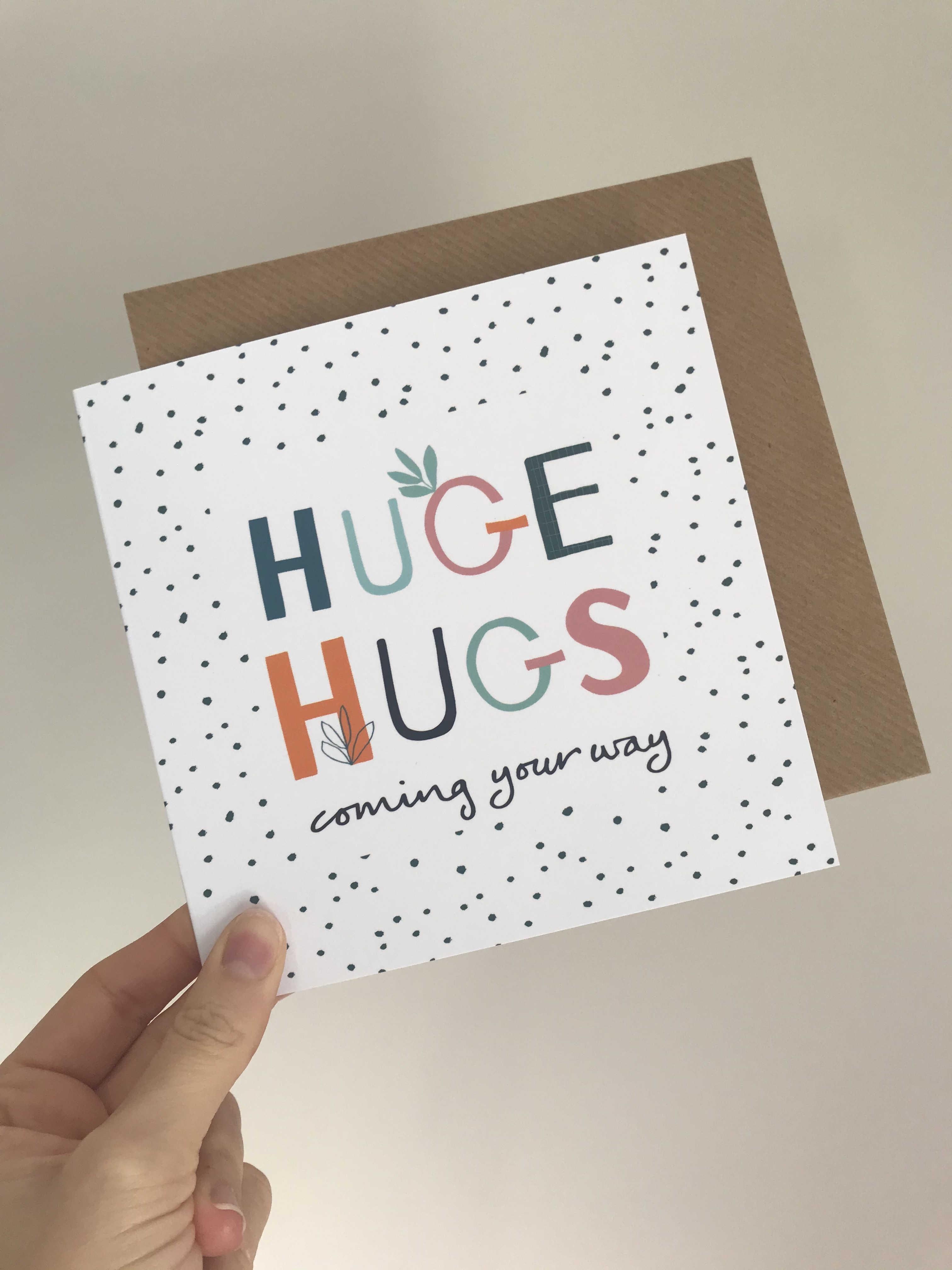 Huge Hugs Card