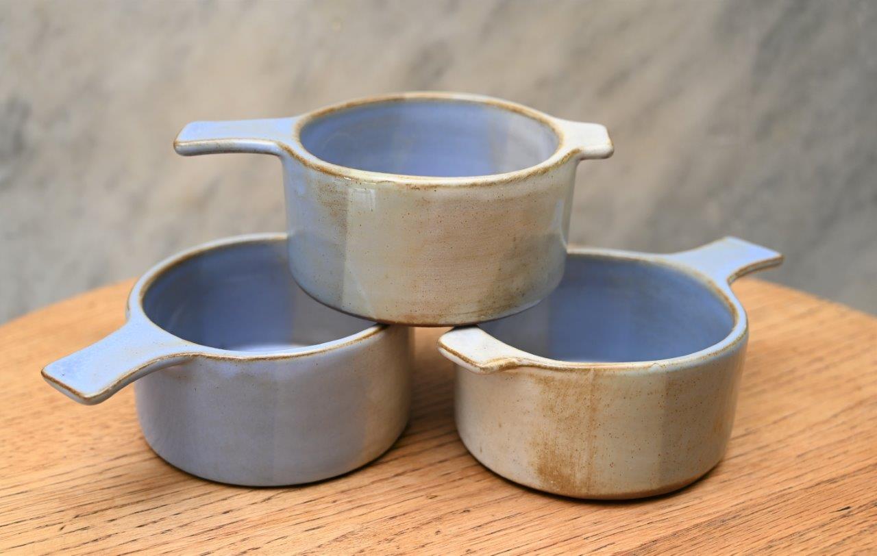 Blue Stoneware Ramekin