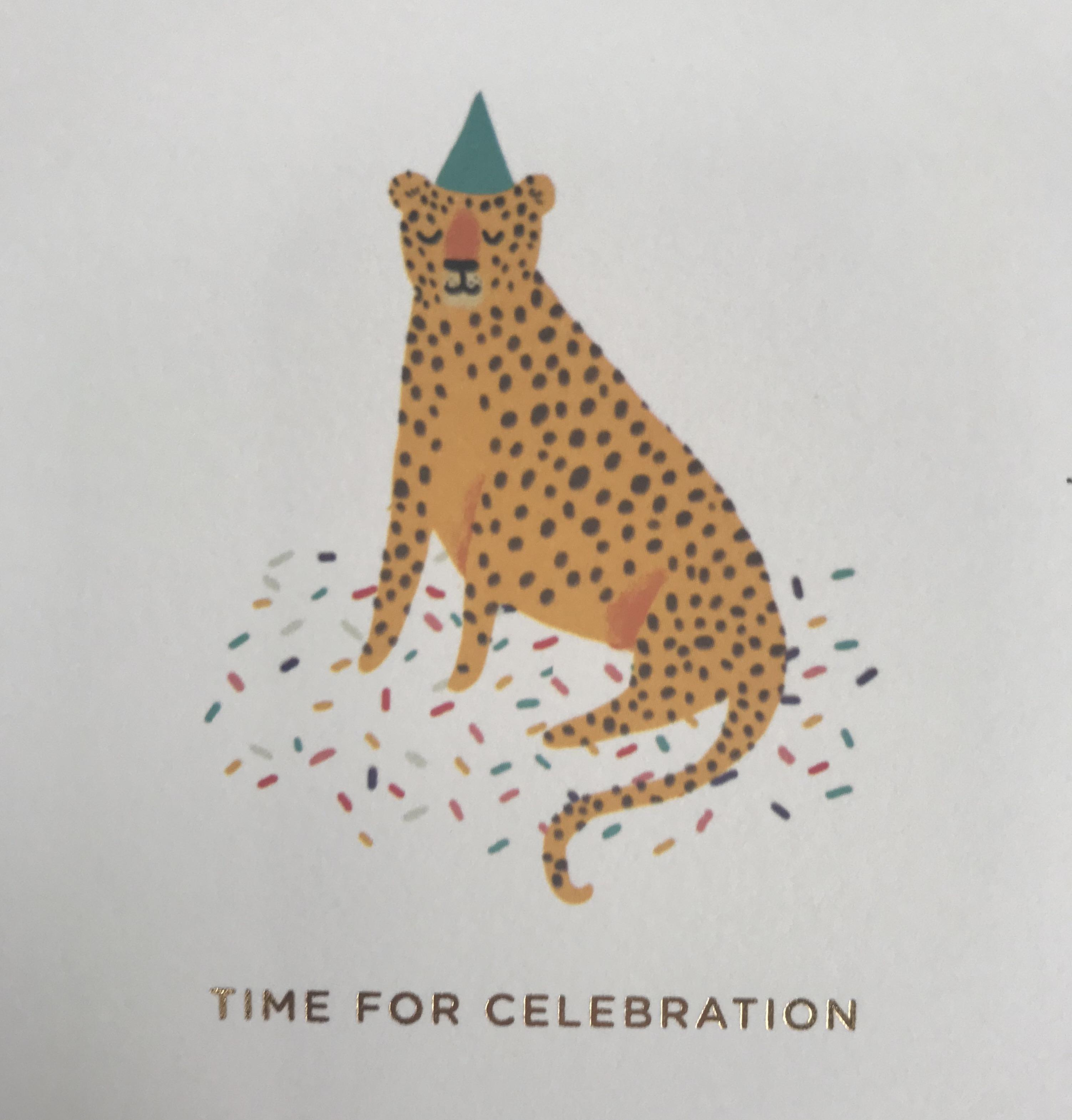 Celebration Birthday Card