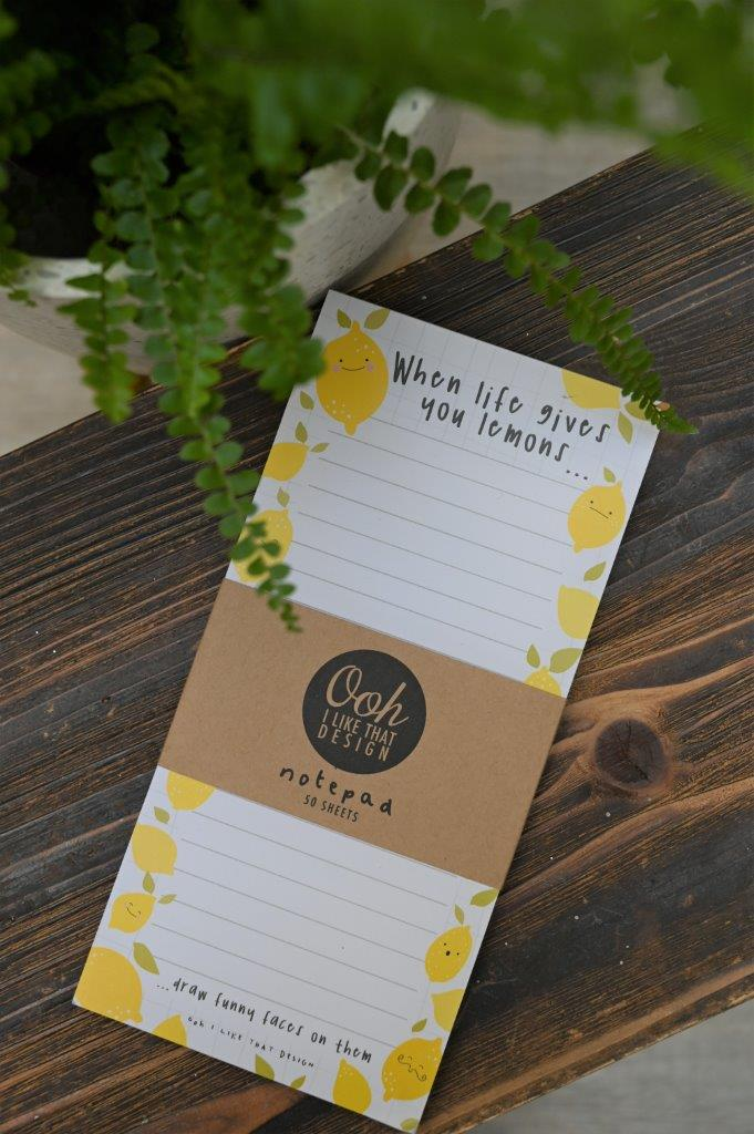 Lemons Notepad