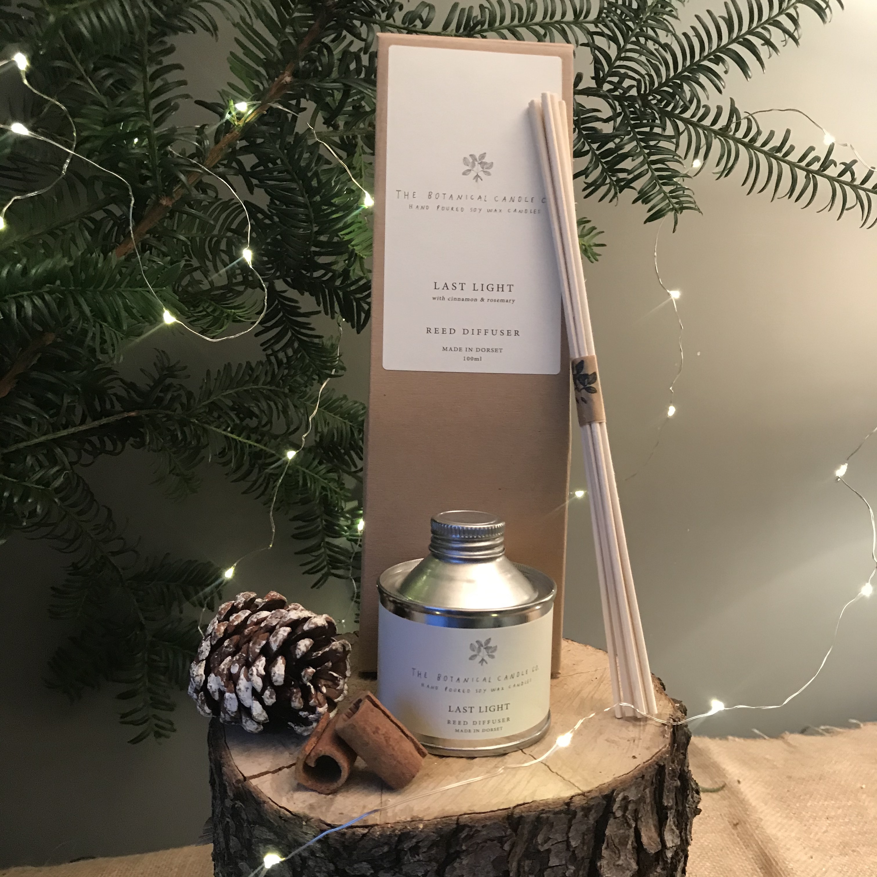 'Last Light' Winter Diffuser by Botanical Candle Co. - was £20