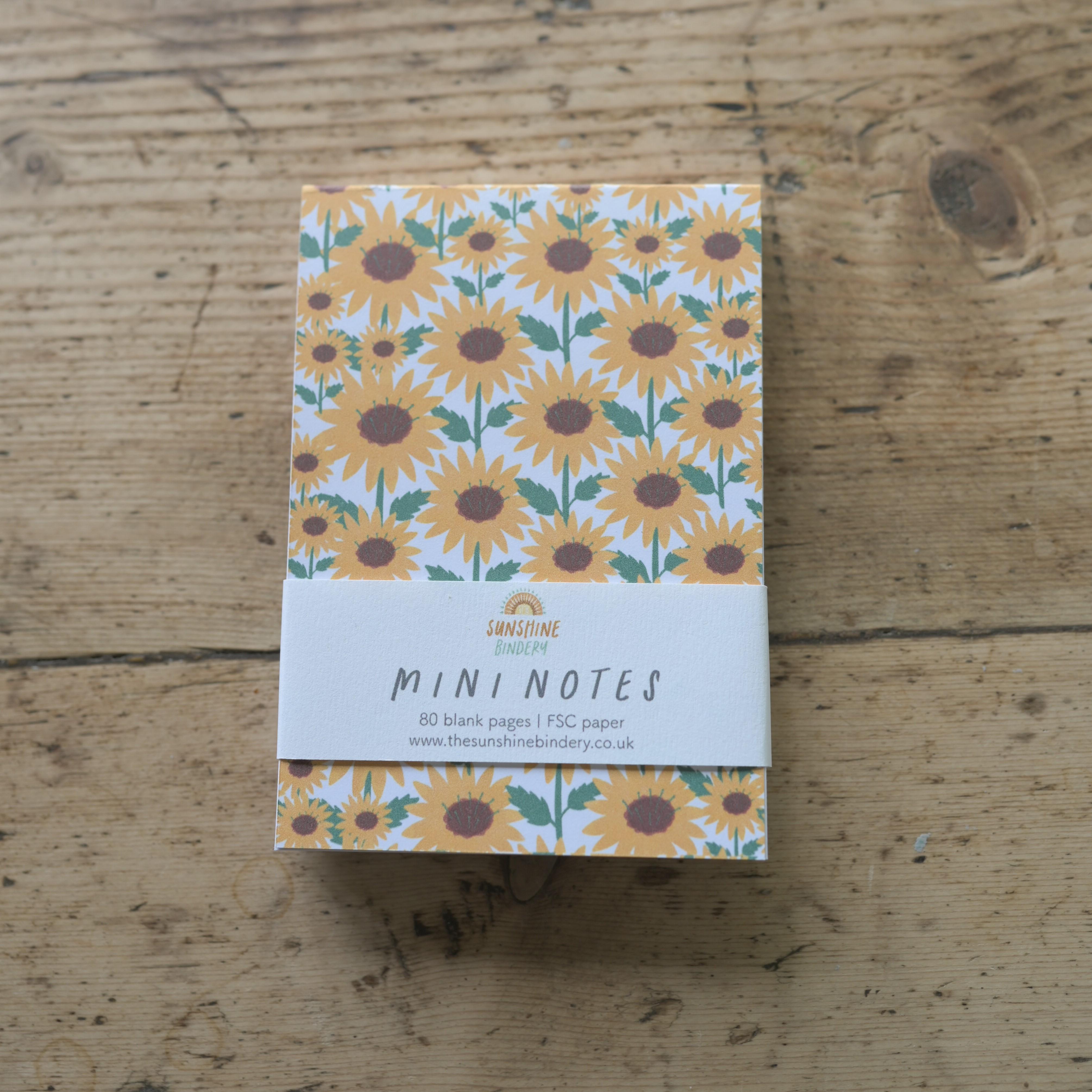 Mini Notes, The Sunshine Bindery