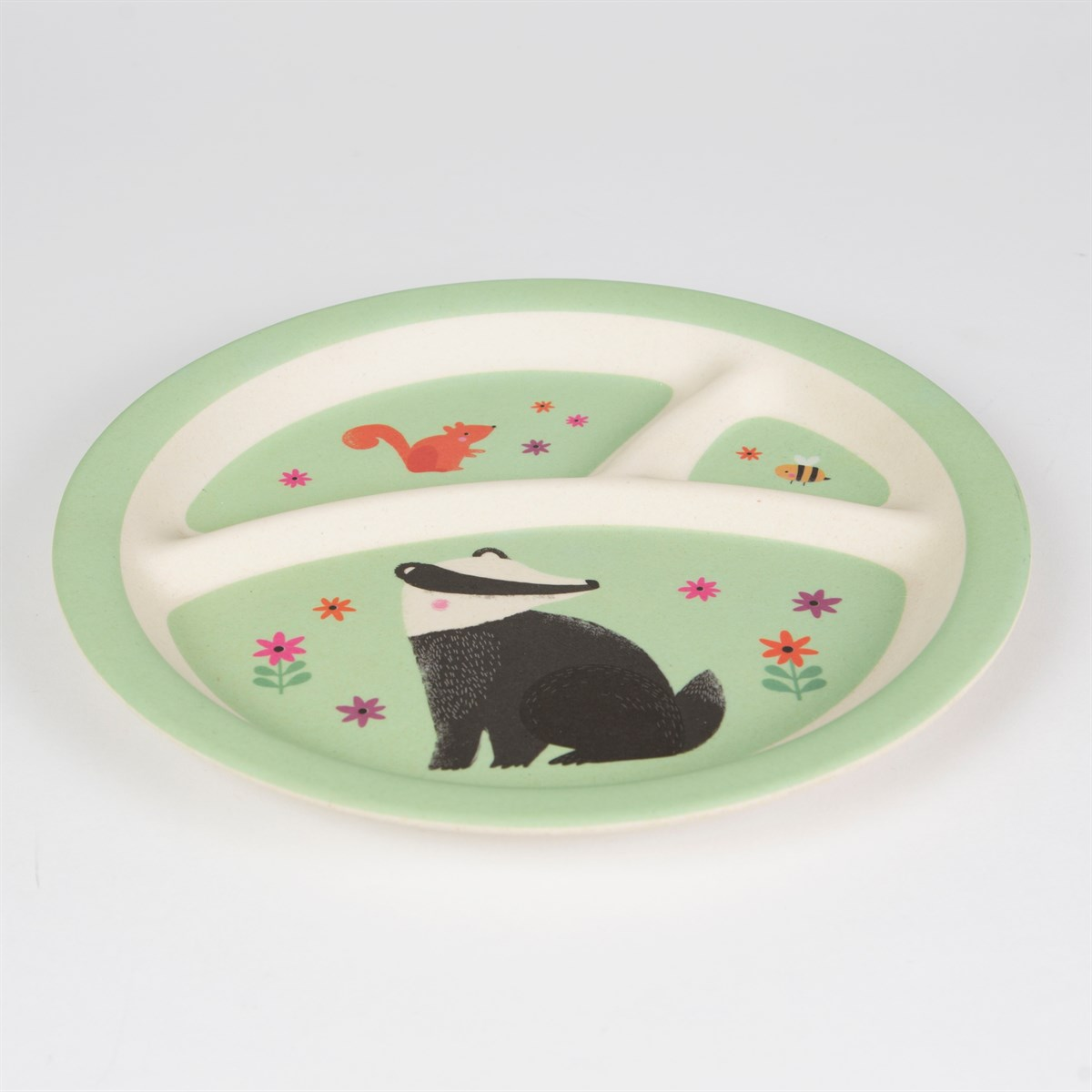 Bamboo 'Woodland Friends' Children's Plate