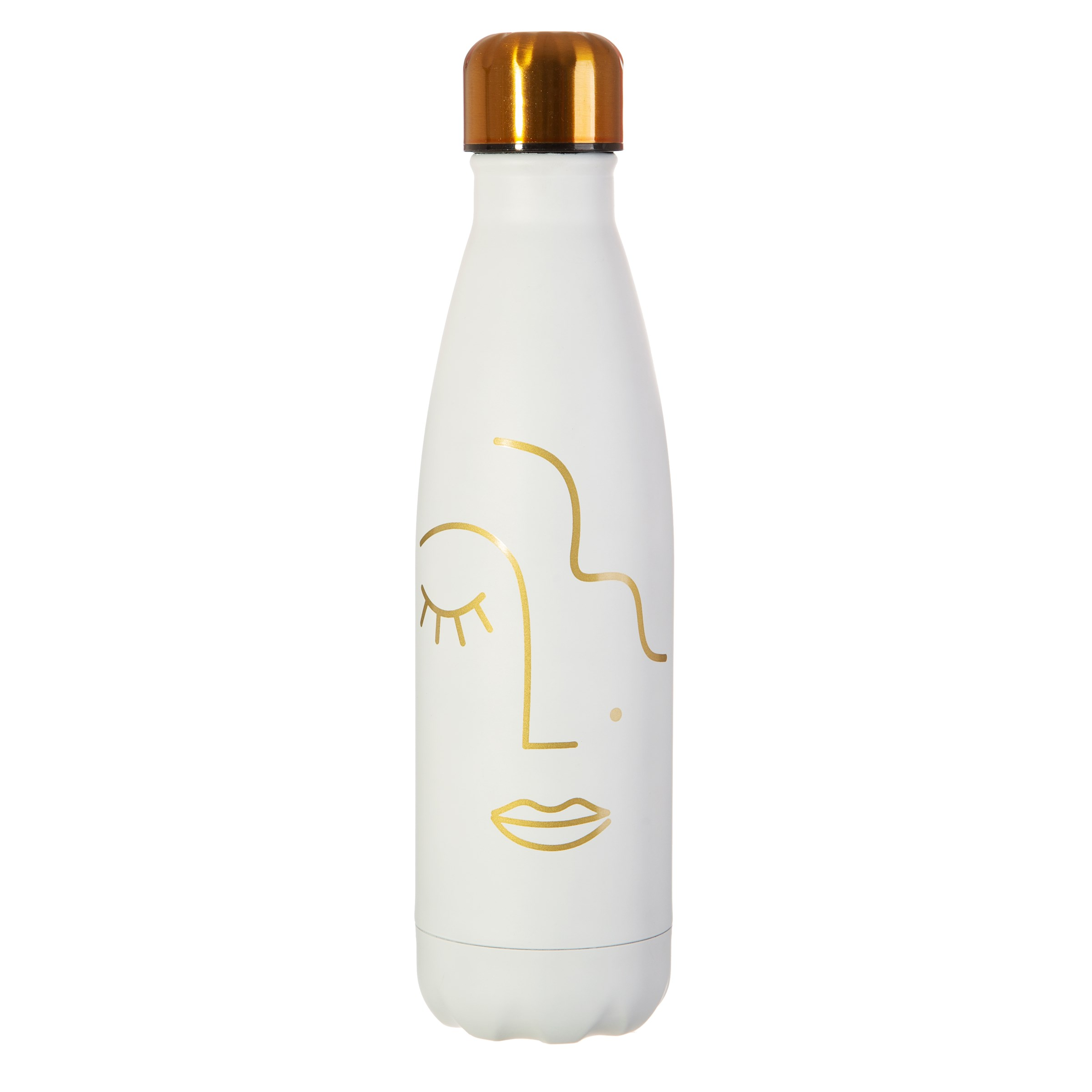 Abstract Face Stainless Steel Bottle