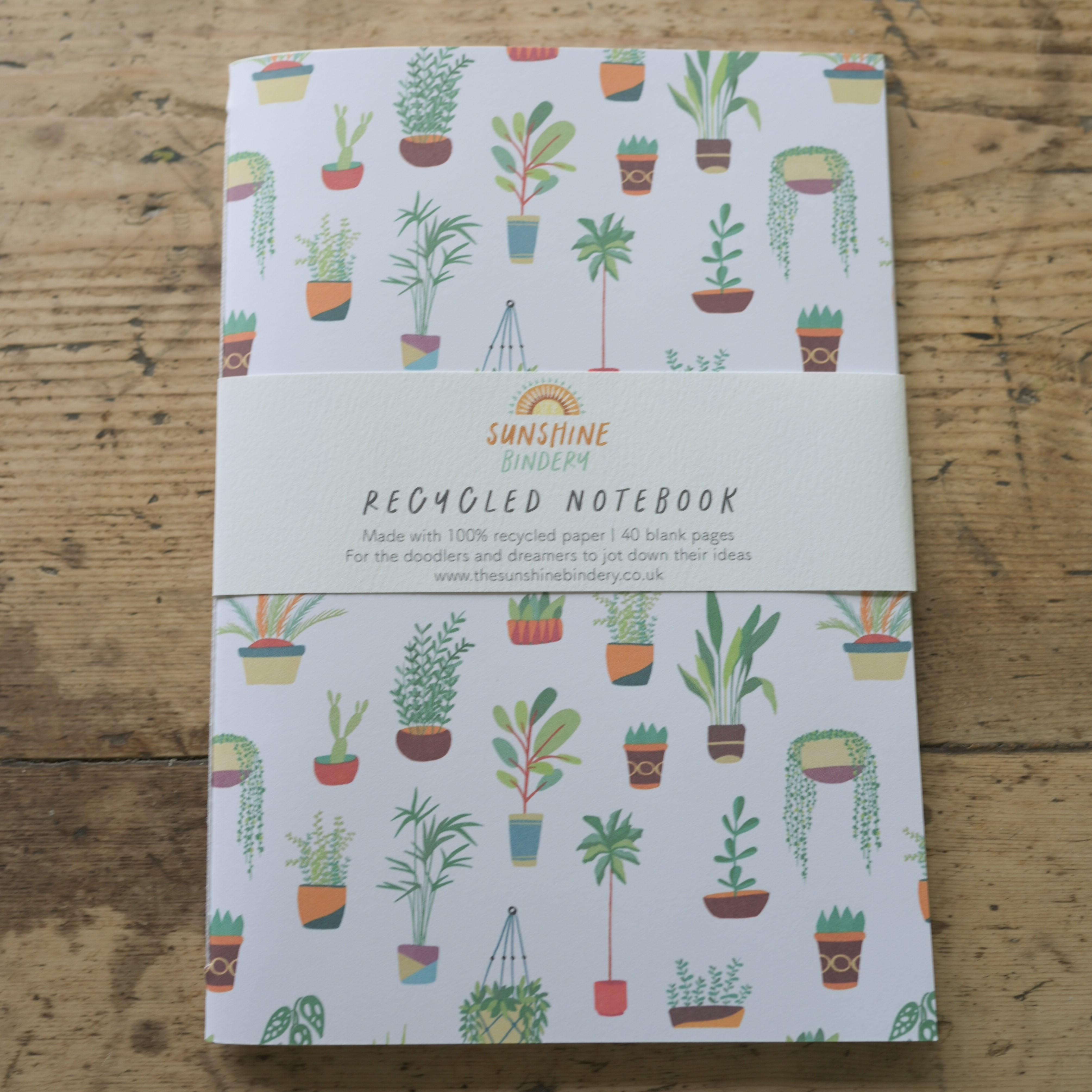 A5 Notebook, The Sunshine Bindery