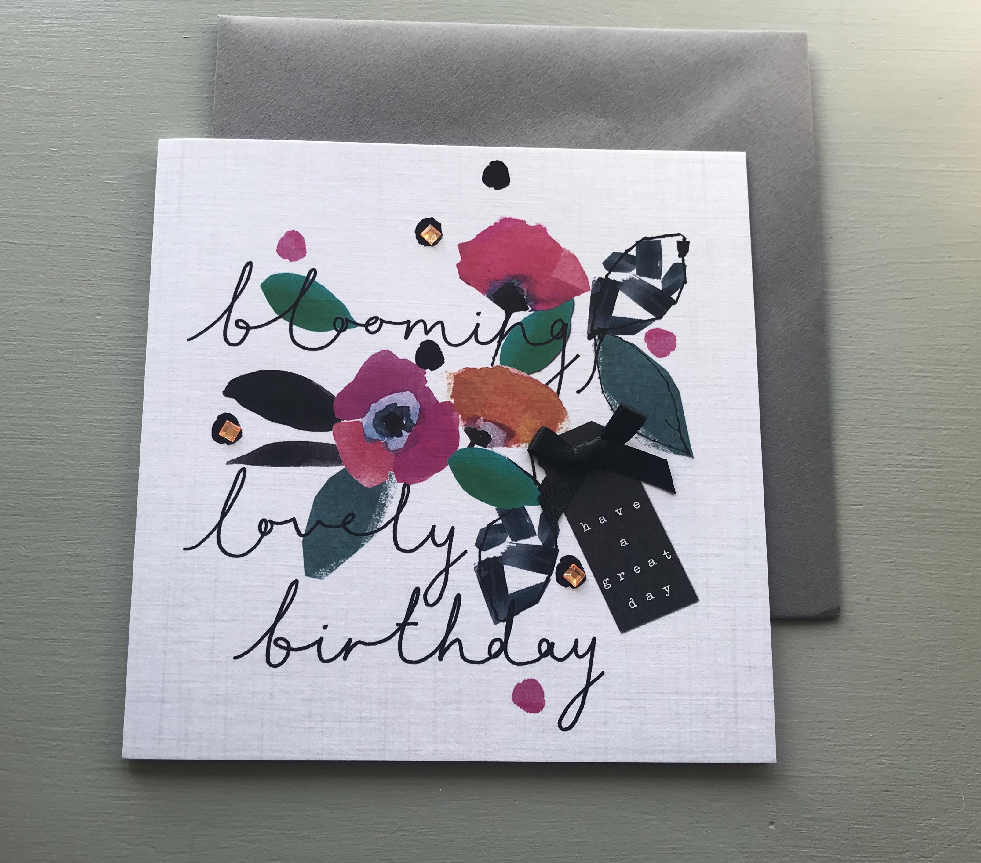 Bloom Birthday Card