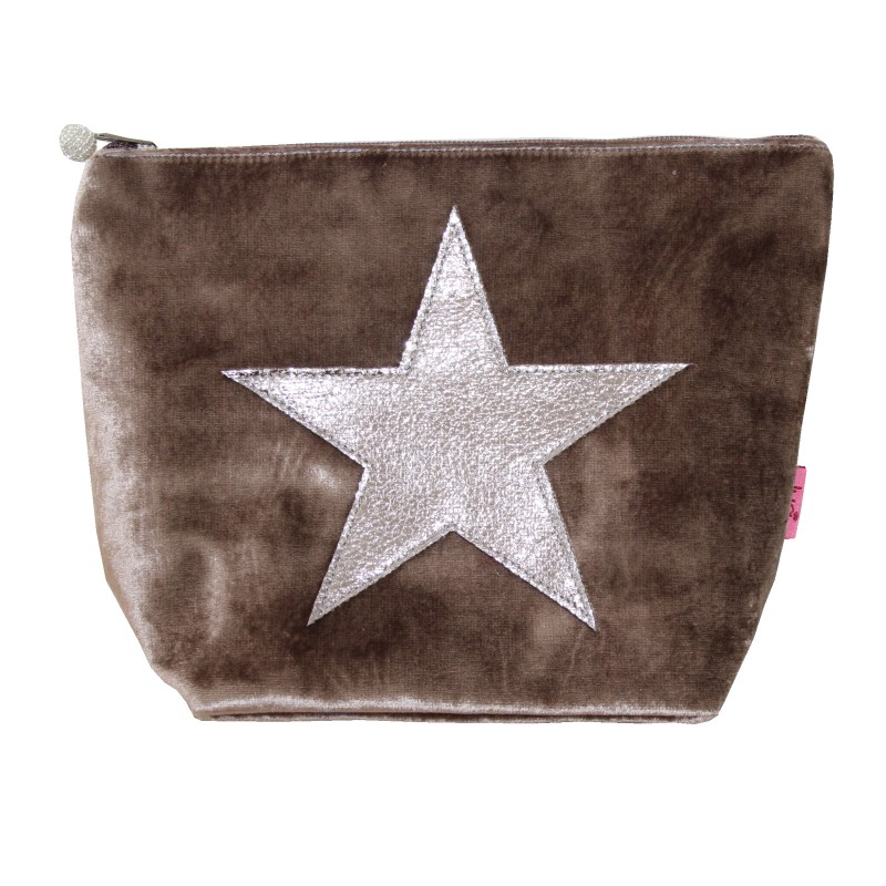 Velvet Star Cosmetic Bag