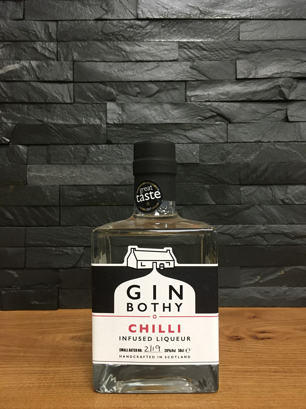 Gin Bothy Chilli Gin Liqueur 50cl