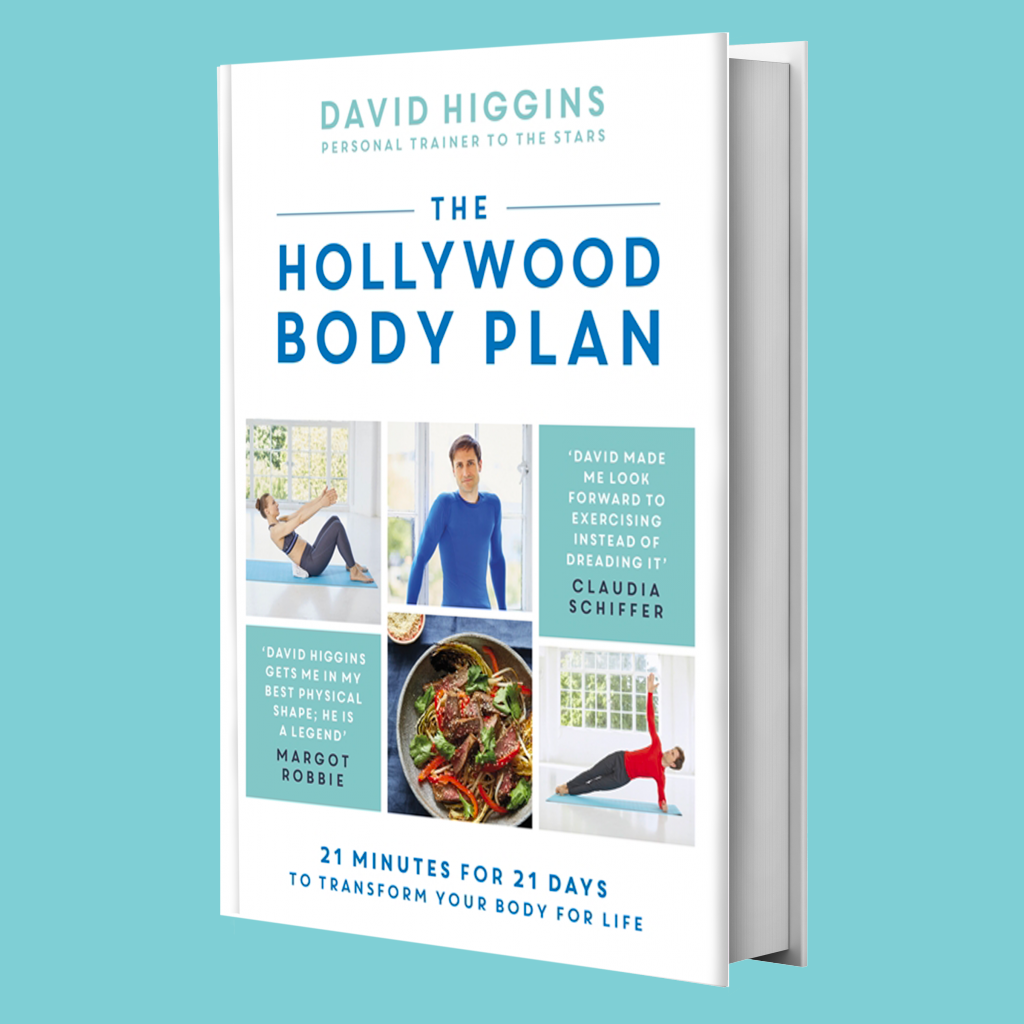 Signed copy The Hollywood Body Plan - Hard Cover Book