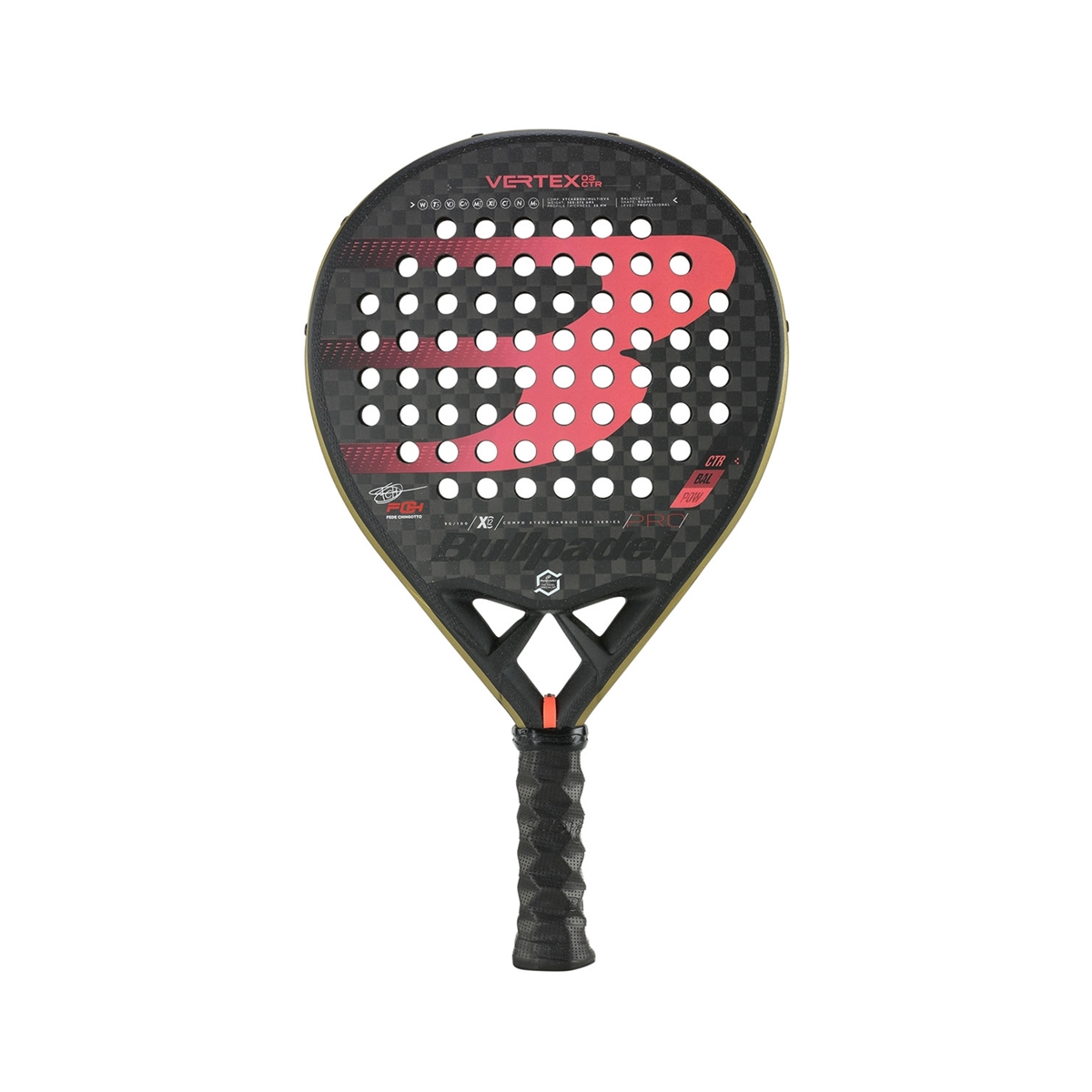 PALA BULLPADEL VERTEX 3 CTR 21