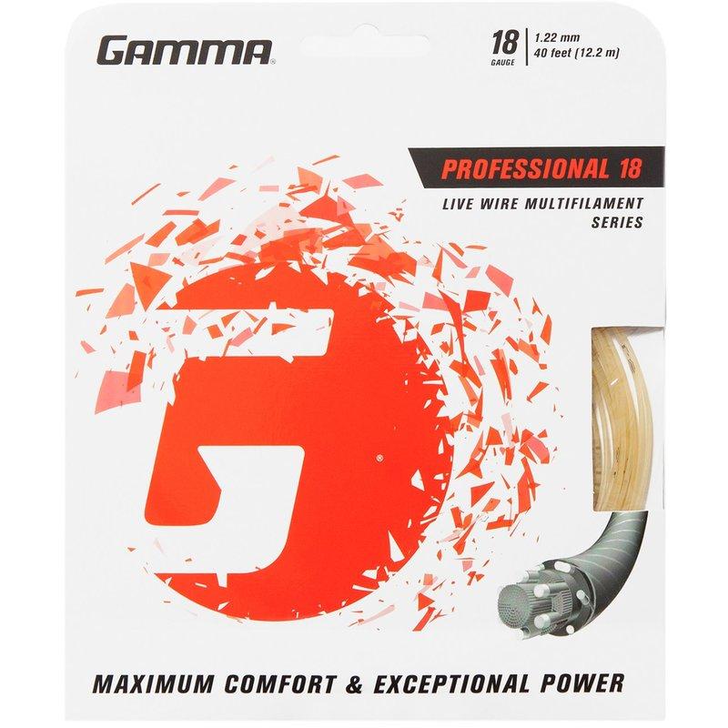 Gamma Live Wire Professional 12,2 m Set 18 tennisjänne