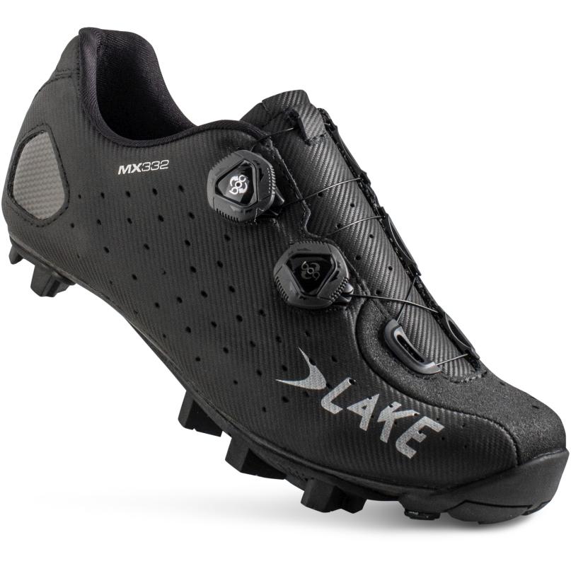 LAKE MX332 MTB Shoe - black/silver