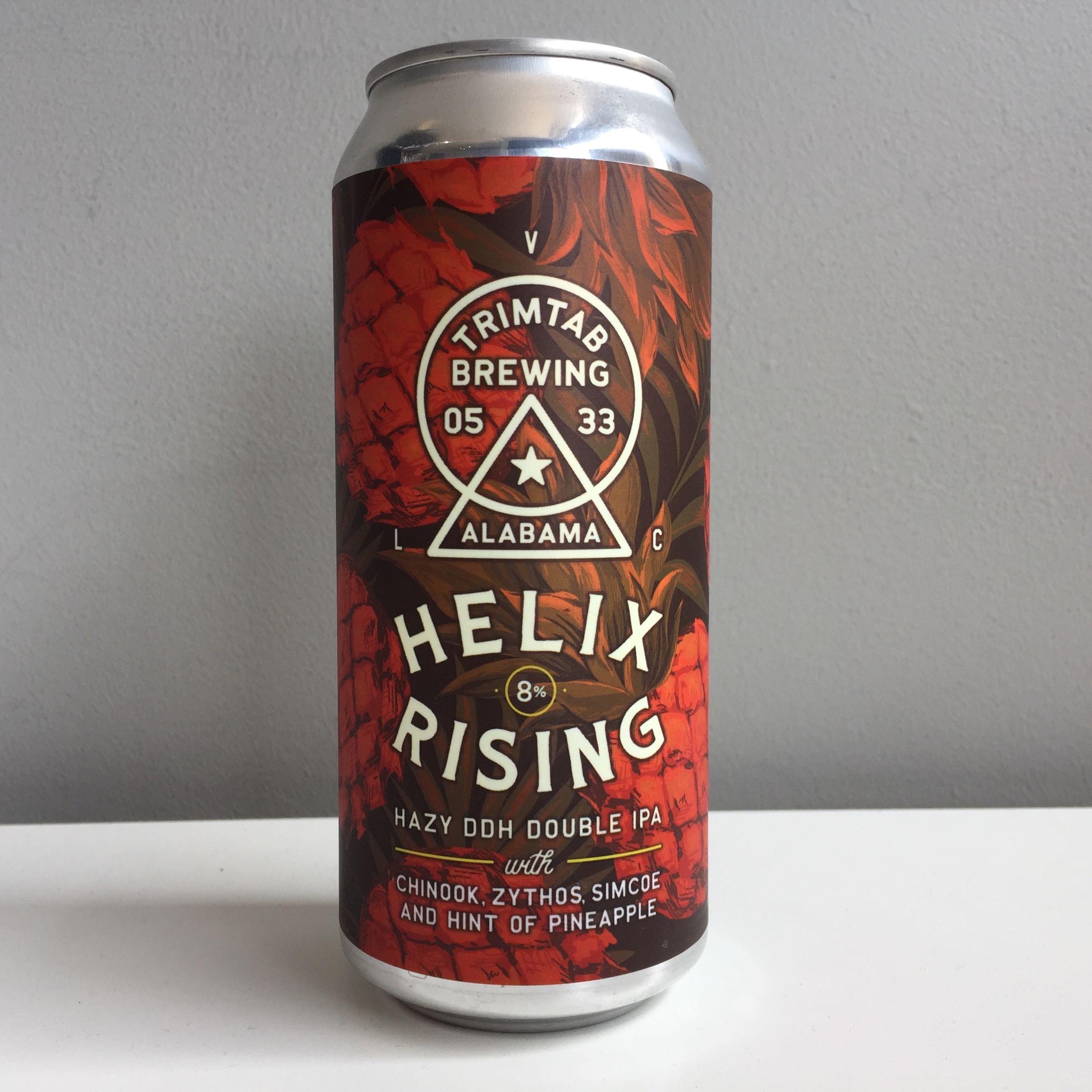 Trimtab Brewing 'Helix Rising' Hazy DDH DIPA 440ml 8% ABV