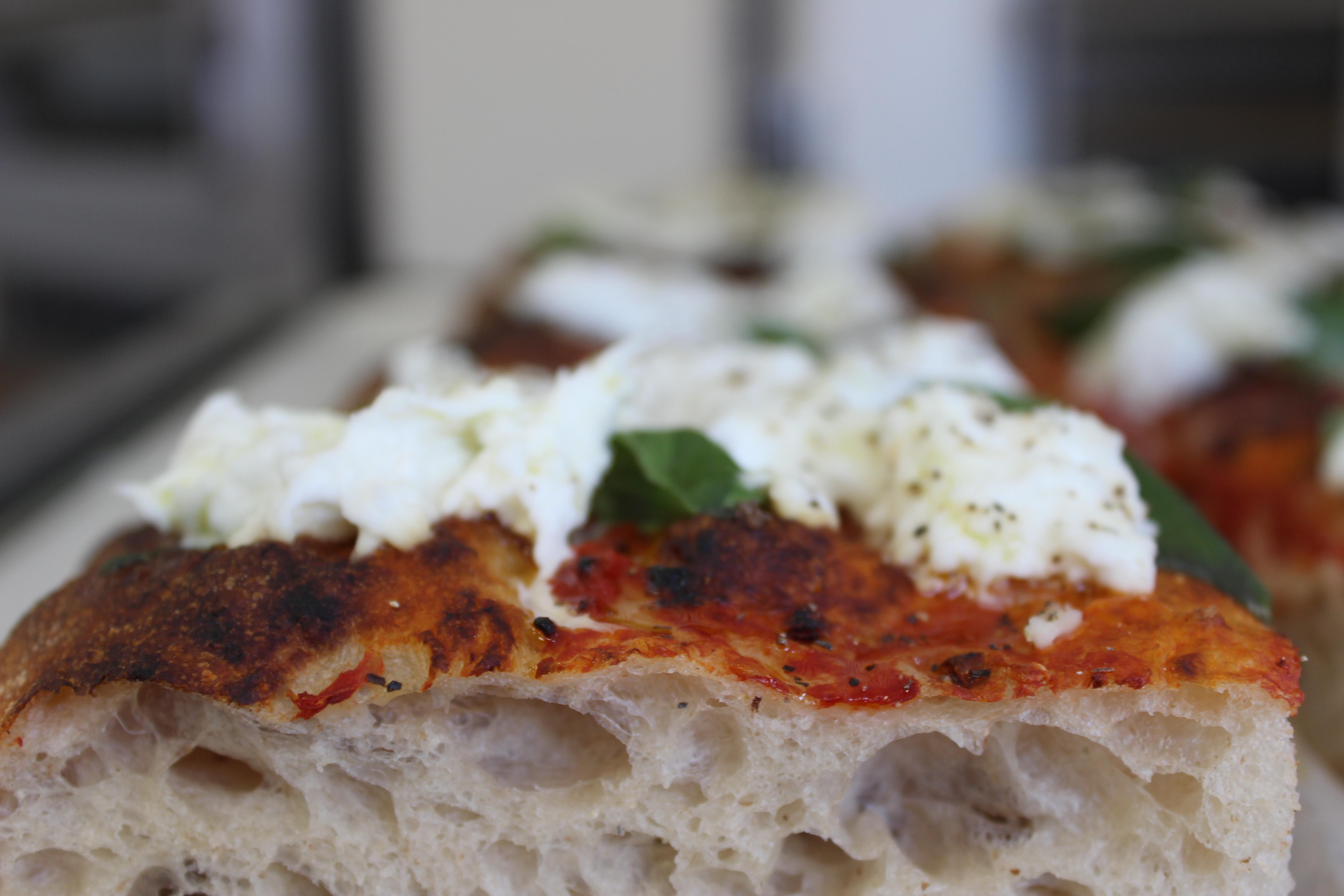 (SAT) Pizza Style Focaccia