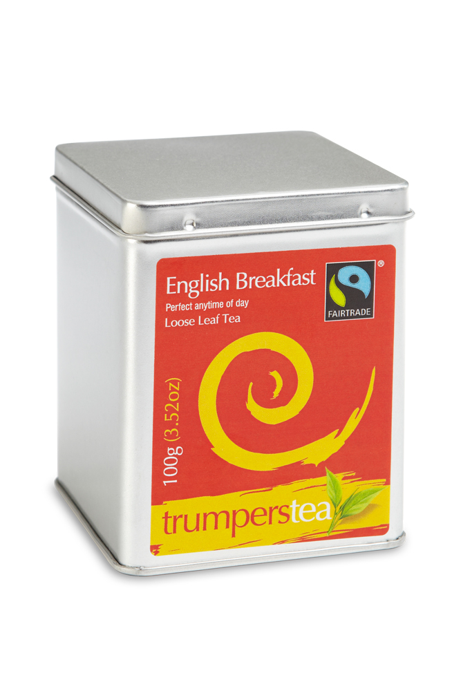 Trumpers English Breakfast Tea Caddy