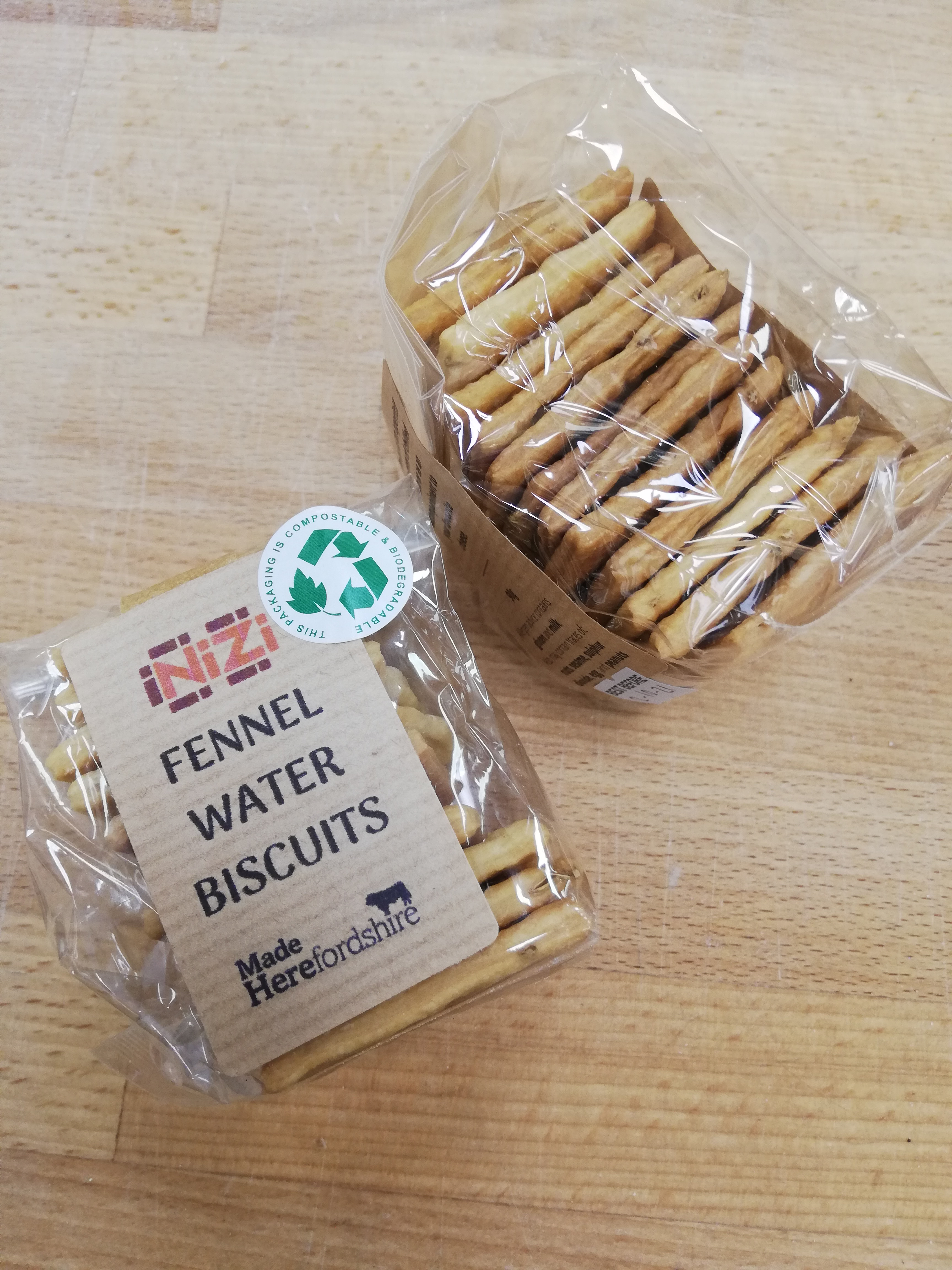 (WED) Fennel Water Biscuits