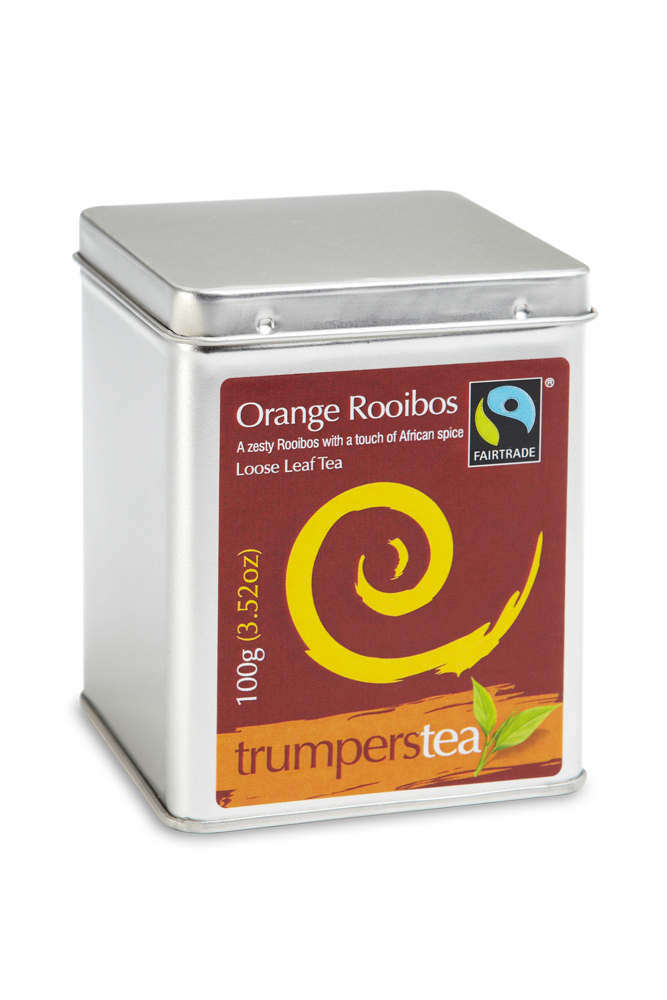 Orange Rooibos Caddy