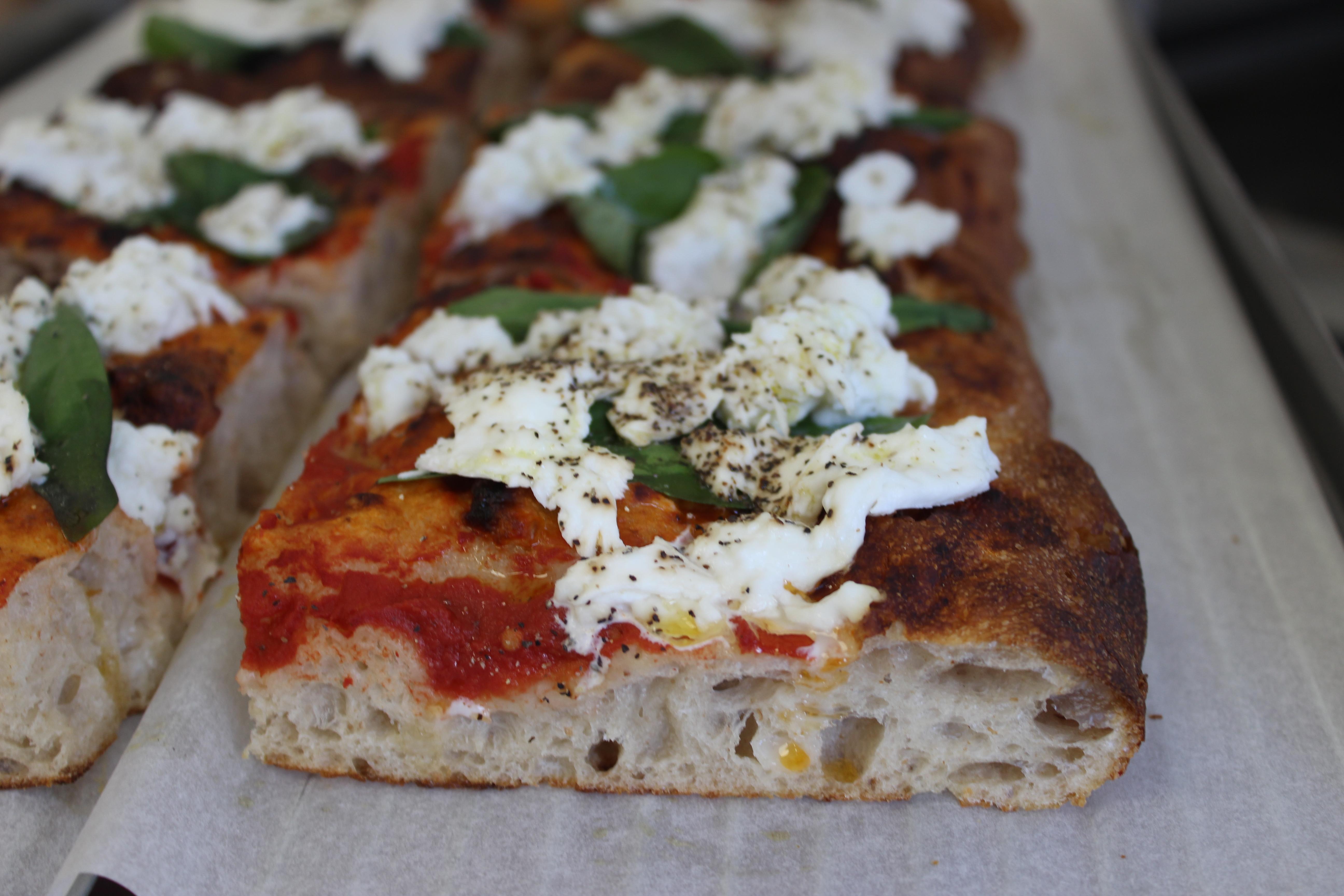 (FRI) Pizza Style Focaccia