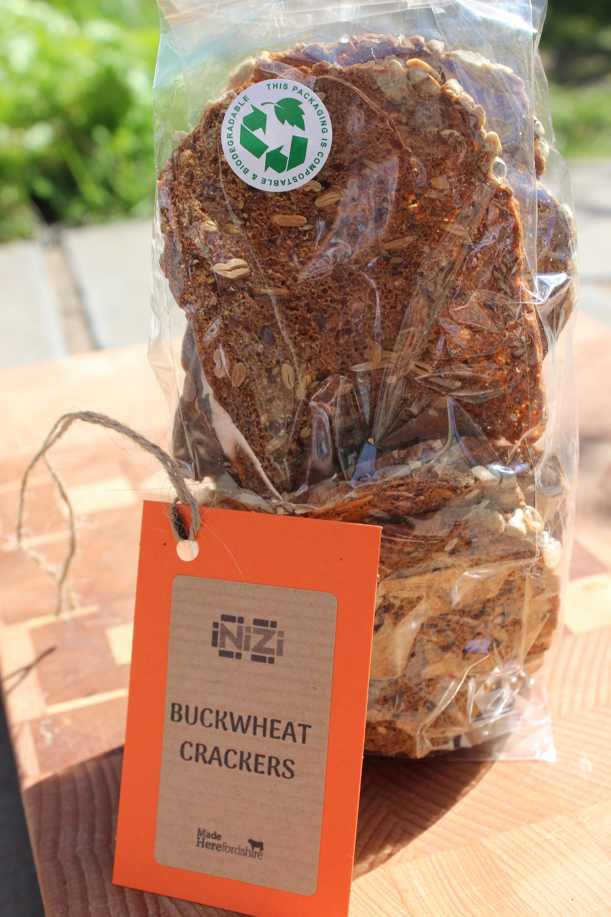 (WED) Buckwheat Crackers