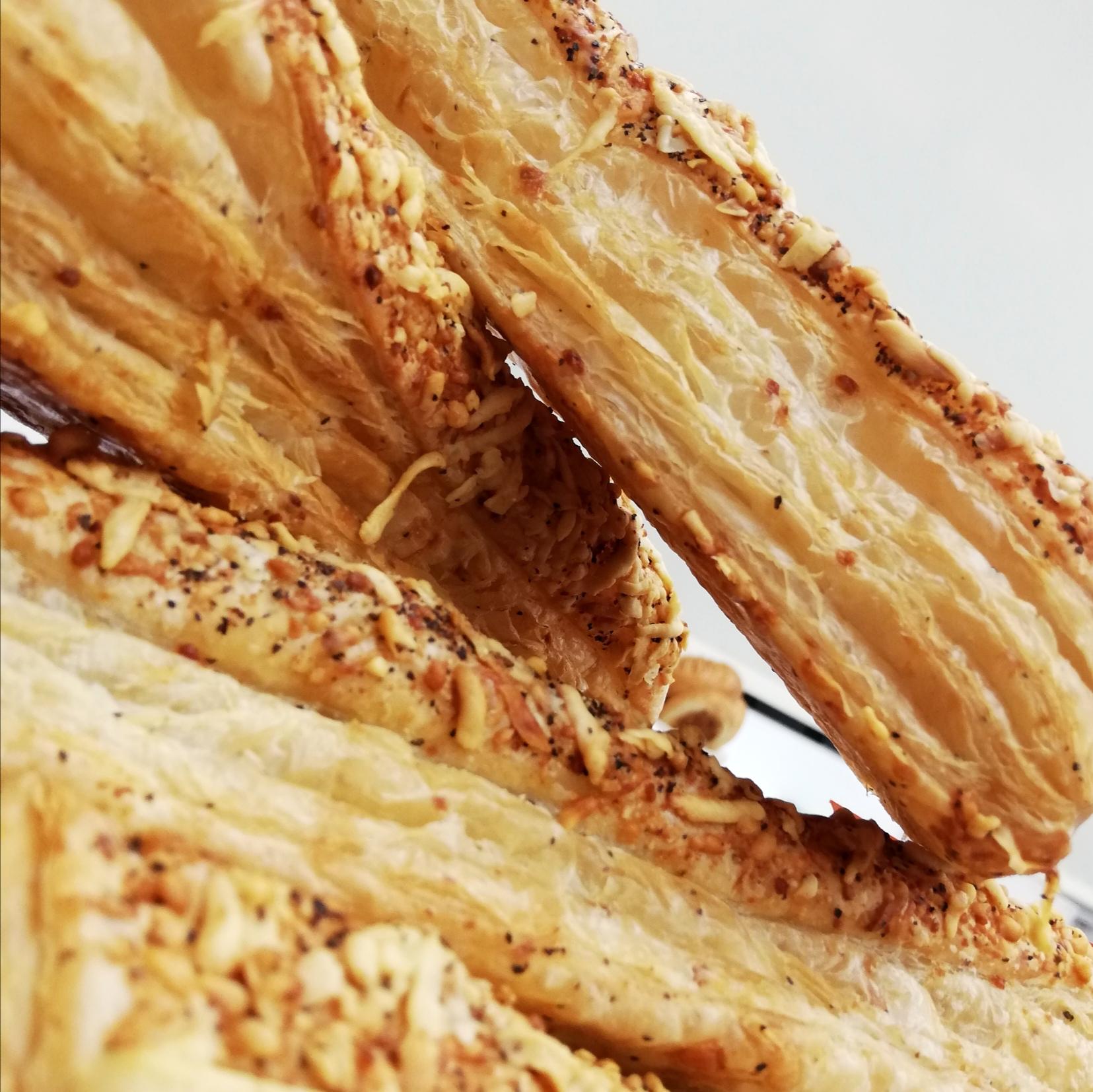 (FRI) 'Cacio e Pepe' Cheese Straw